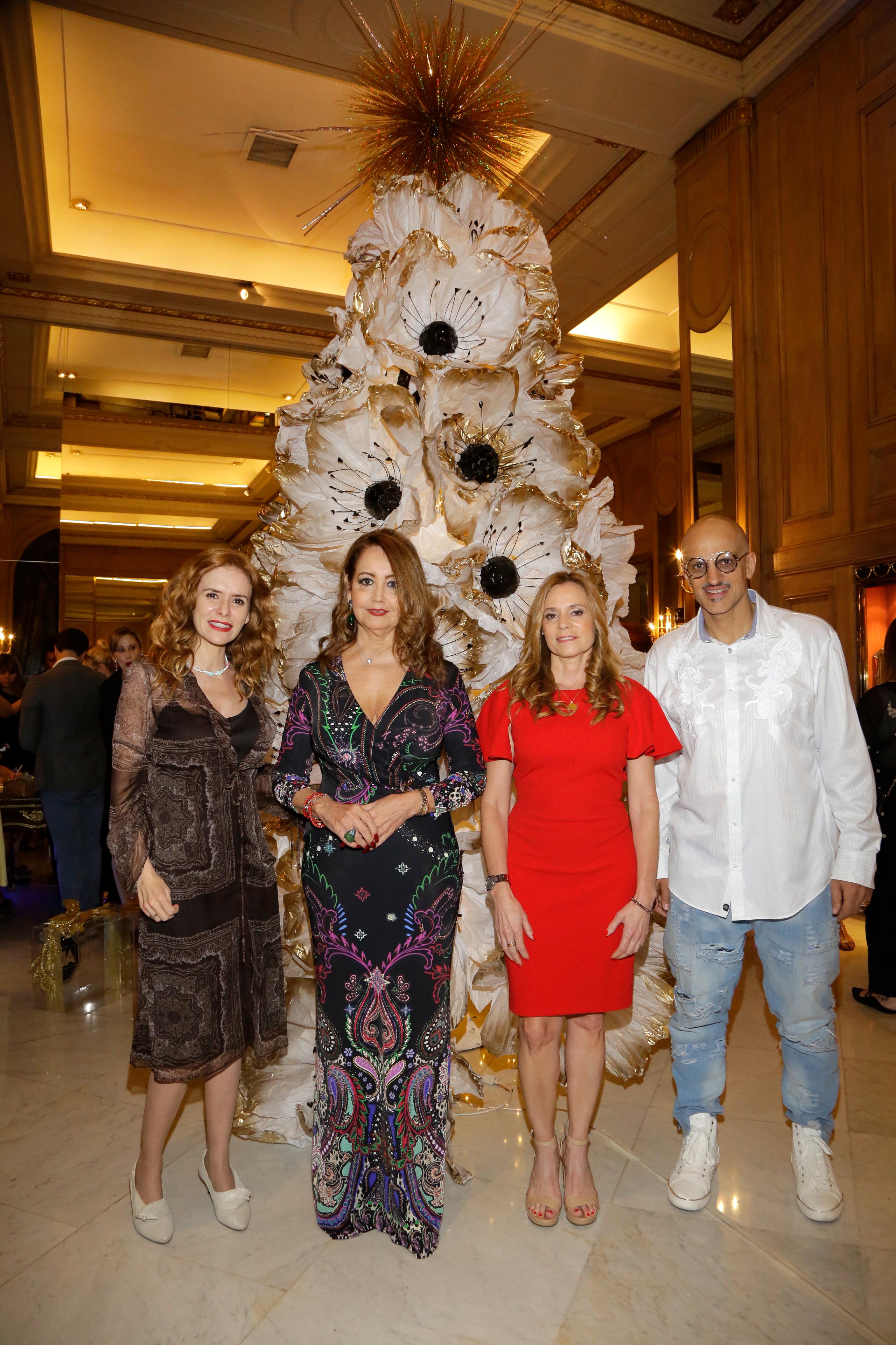 Karina El Azem, Mónica Parisier, Fernanda Nuevo y Guillermo Marín