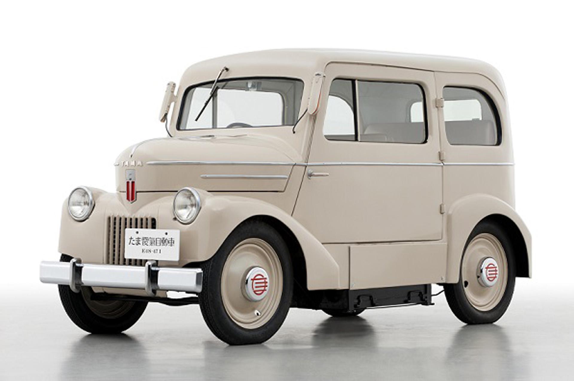 Durante la década del 40, el Nissan Tama fue uno de los modelos más desarrollados