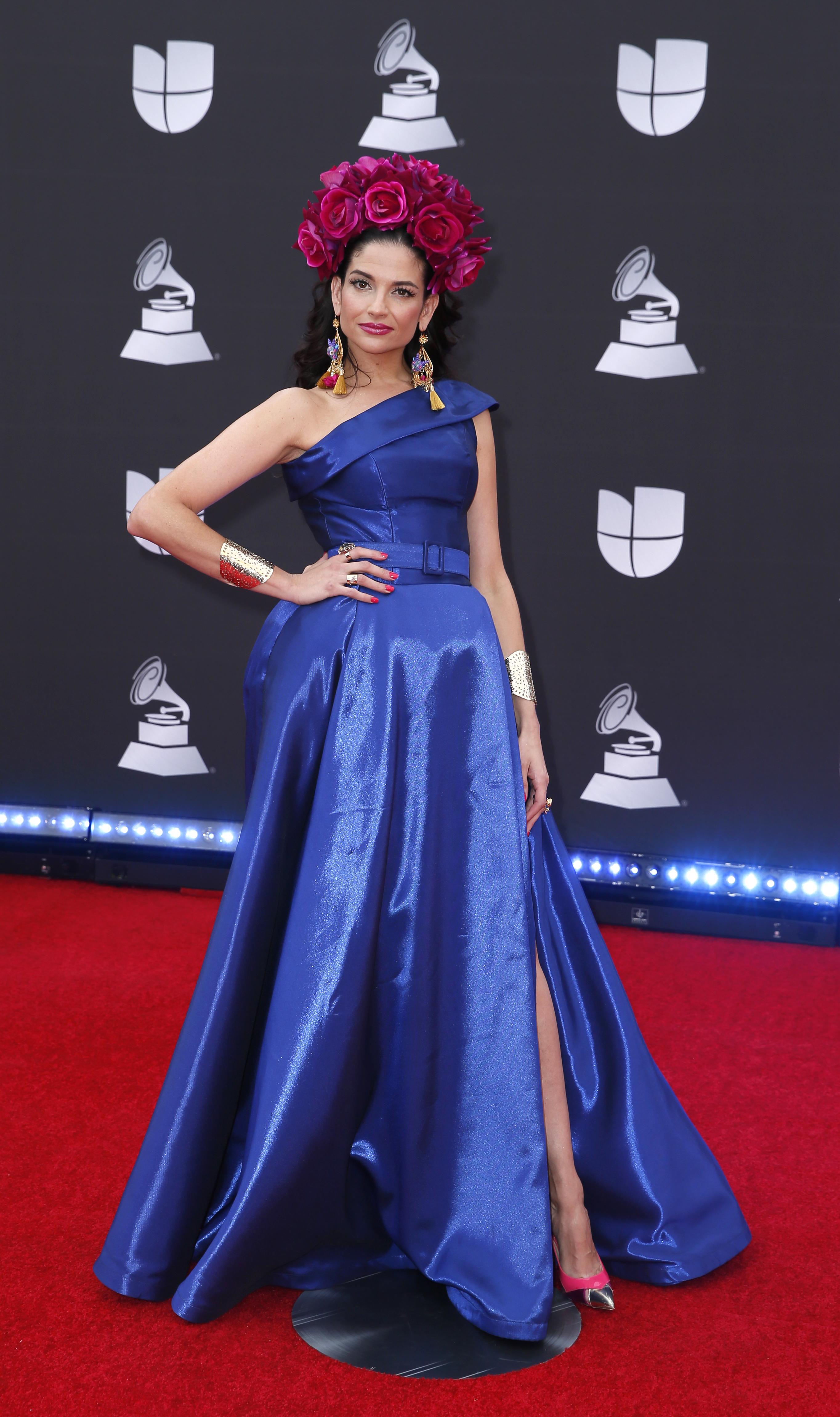 La española Natalia Jiménez será una de estrellas que se subirá al escenario de los Latin Grammy 2019