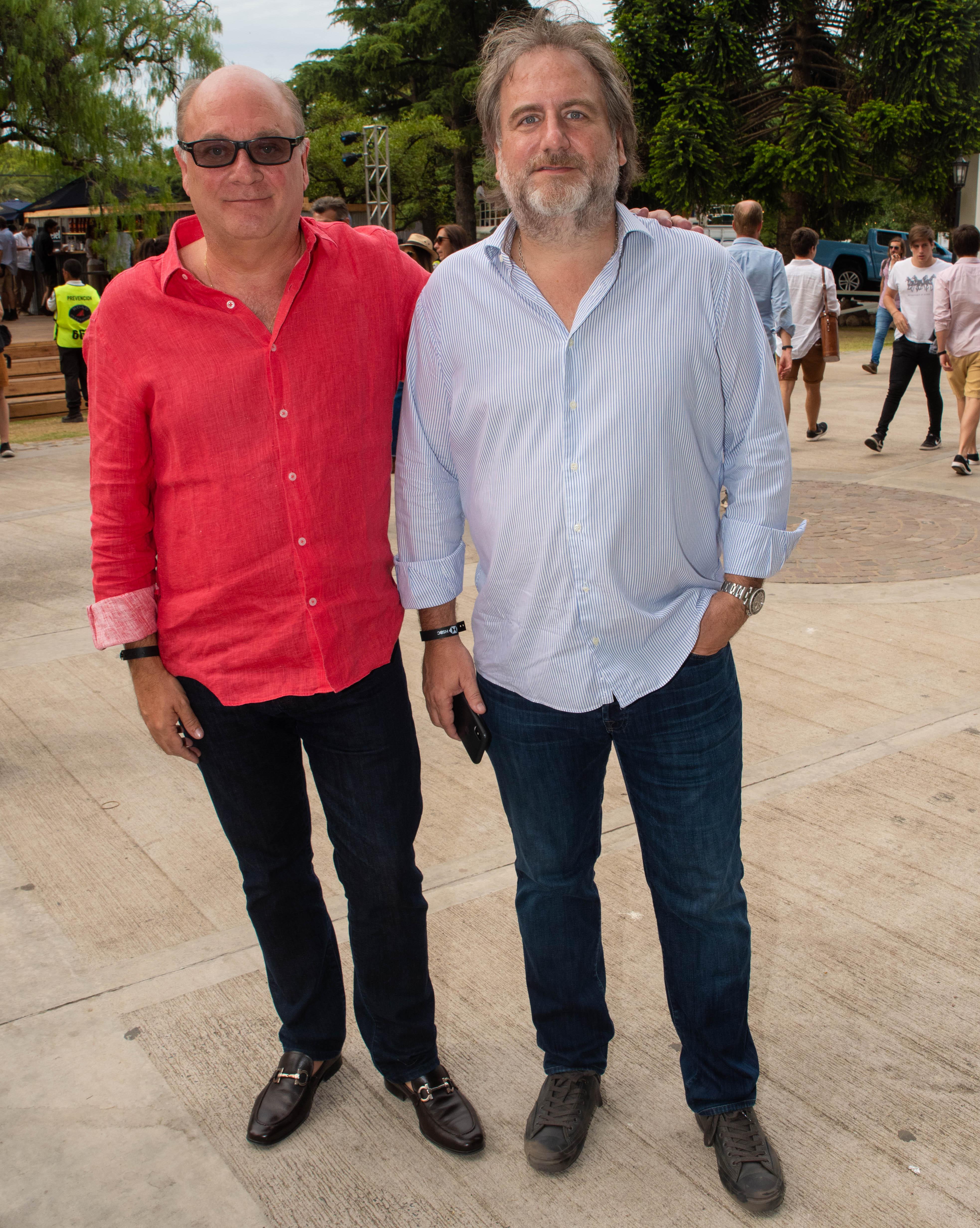 Martín Cabrales y Tato Lanusse
