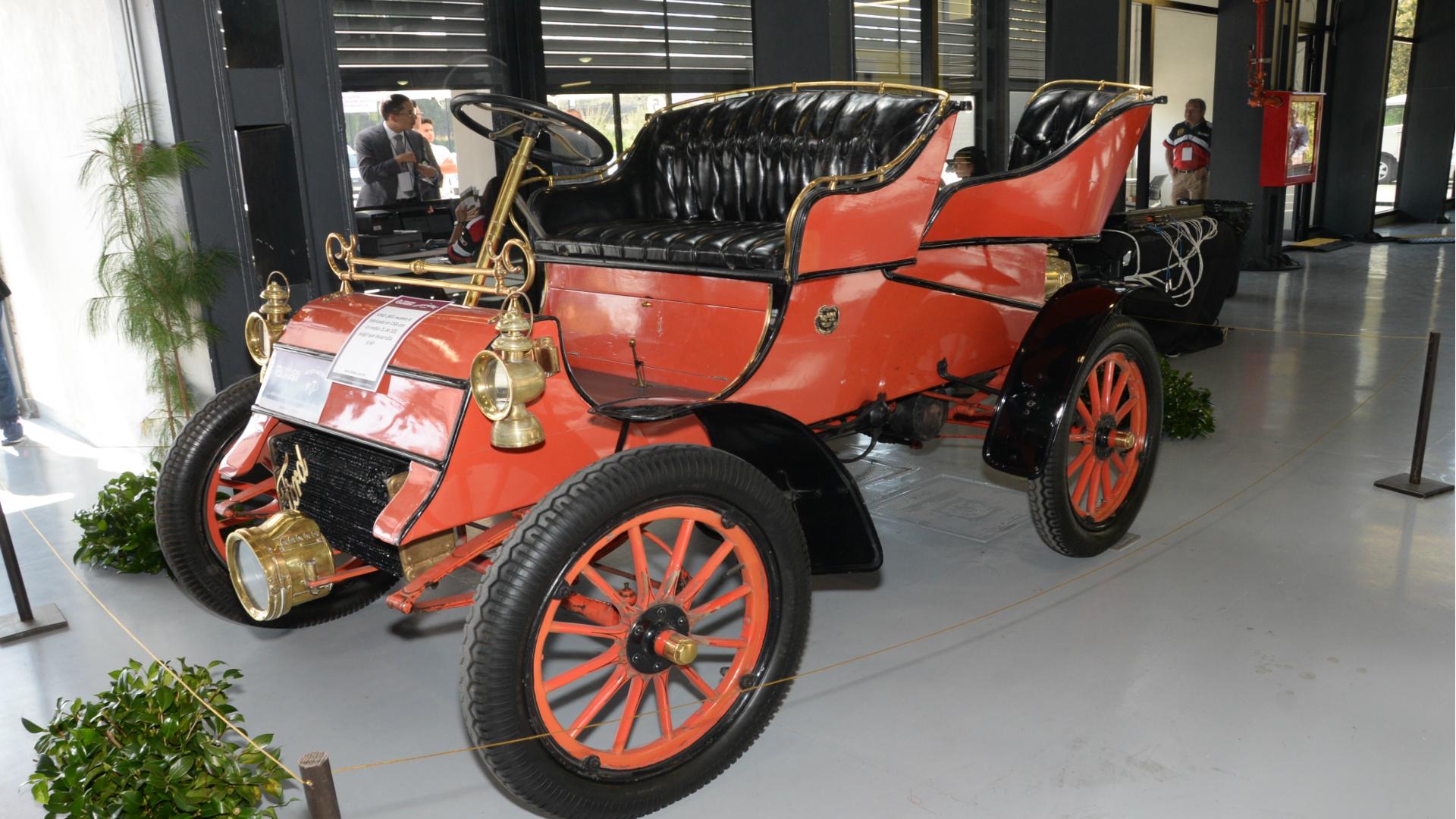 El Ford A de 1903 se encuentra en la primera posición (Foto: UNAM)