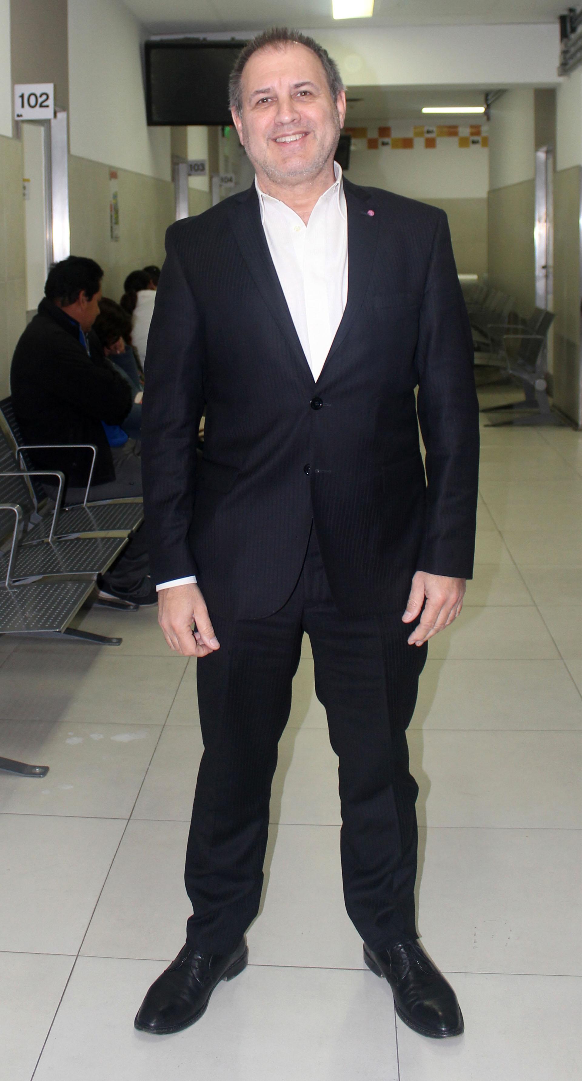 Marcelo Pérez, subdirector de la Casa de Entre Ríos