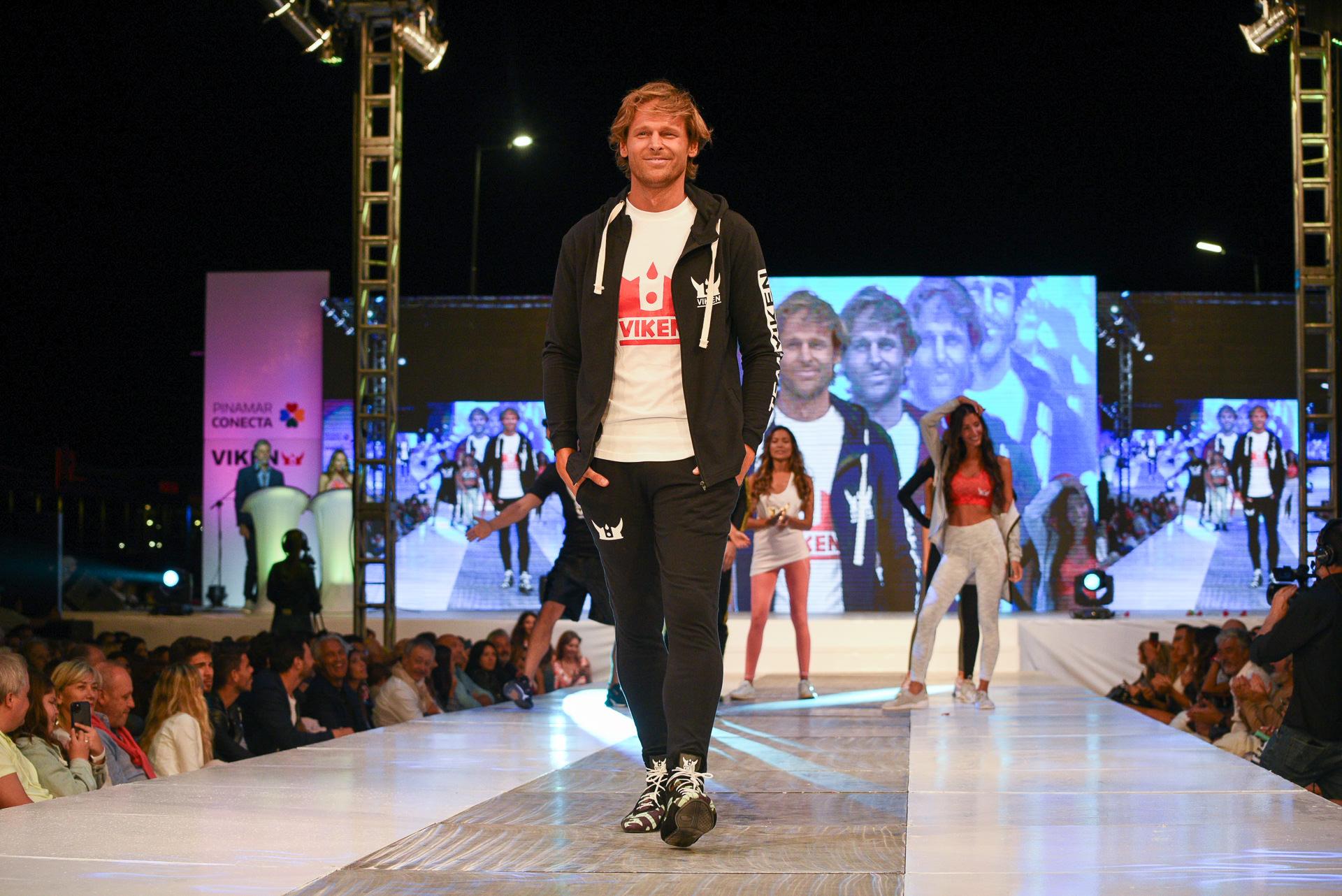 La pasada de la firma Viken, que presentó su nueva colección de indumentaria deportiva