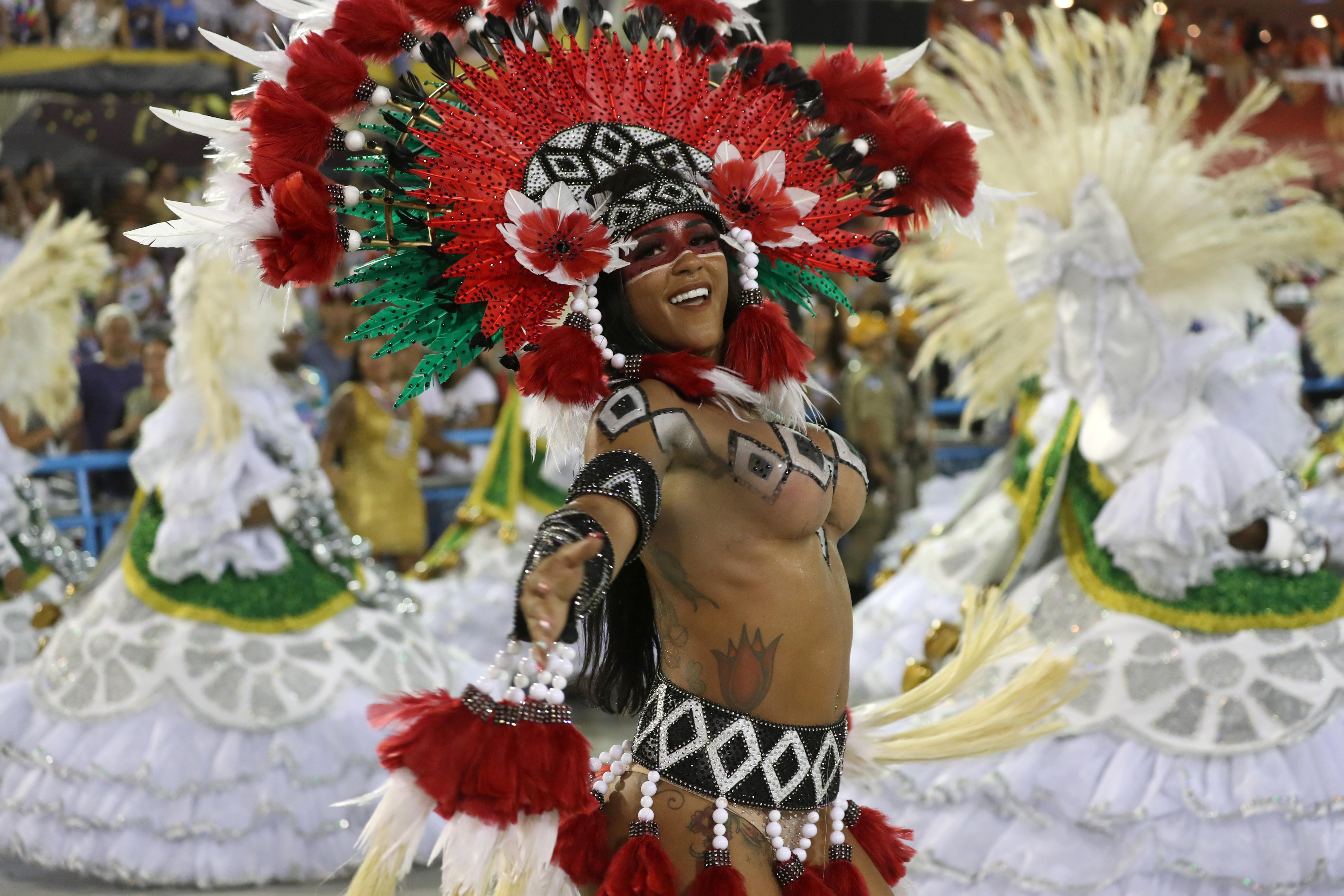 Escuela Mocidade de samba REUTERS/Sergio Moraes