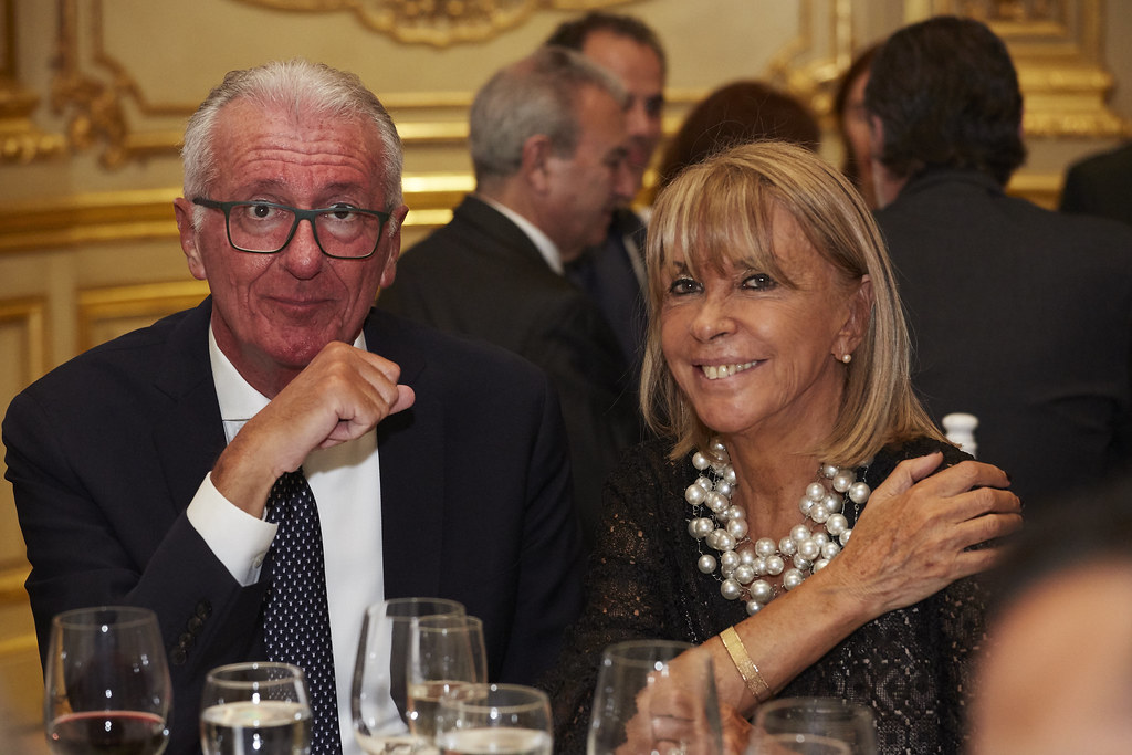 El Country Manager de BNP Paribas, Tullio Lanari, y la presidente de Grupo Suessa, Susana Serra