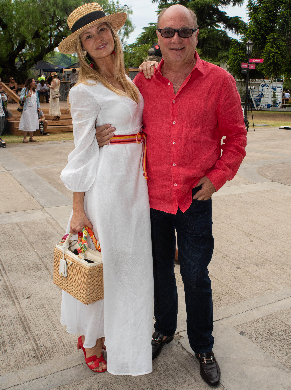 Lily Sciorra y Martín Cabrales