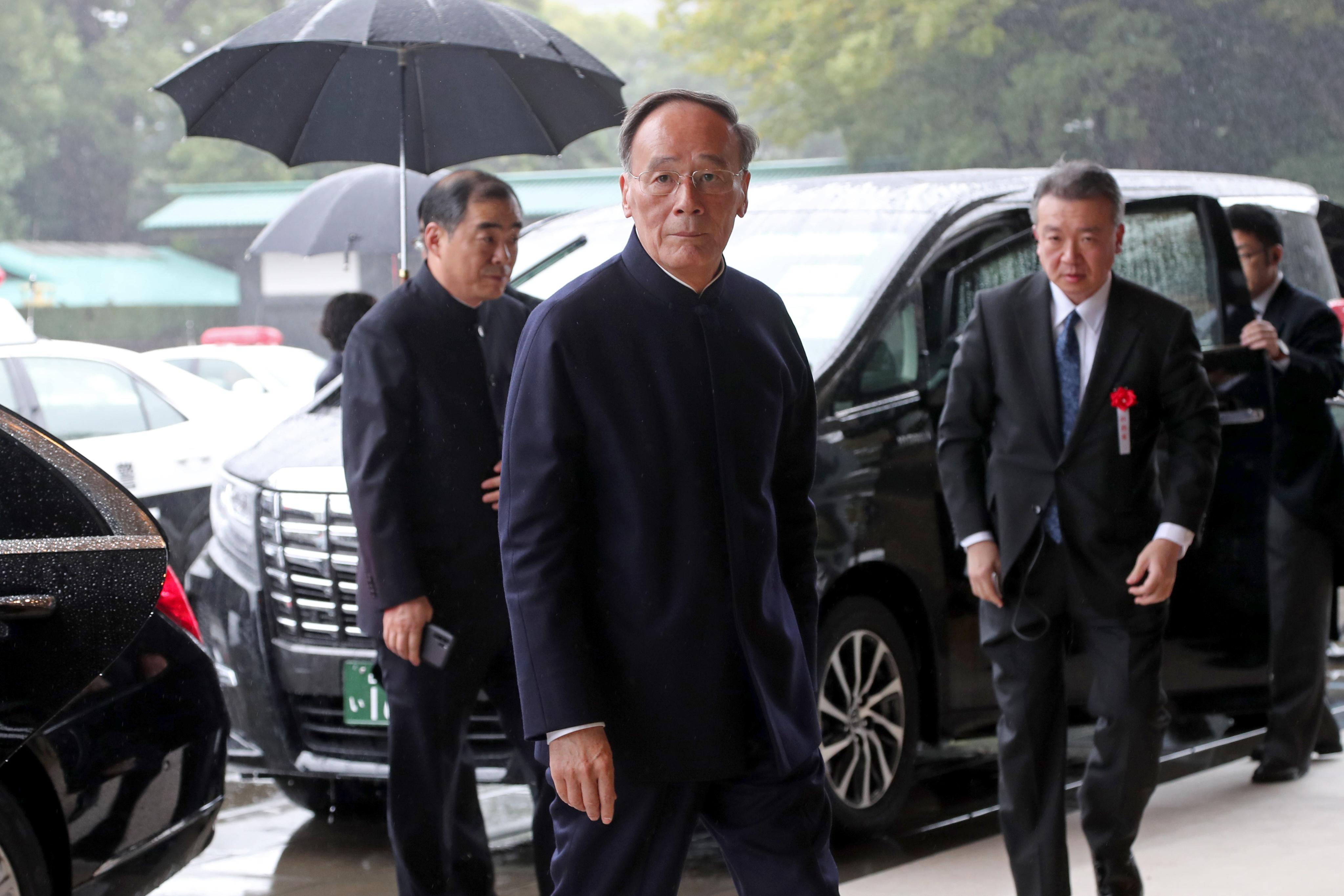 El vicepresidente de China, Wang Qishan (AFP)