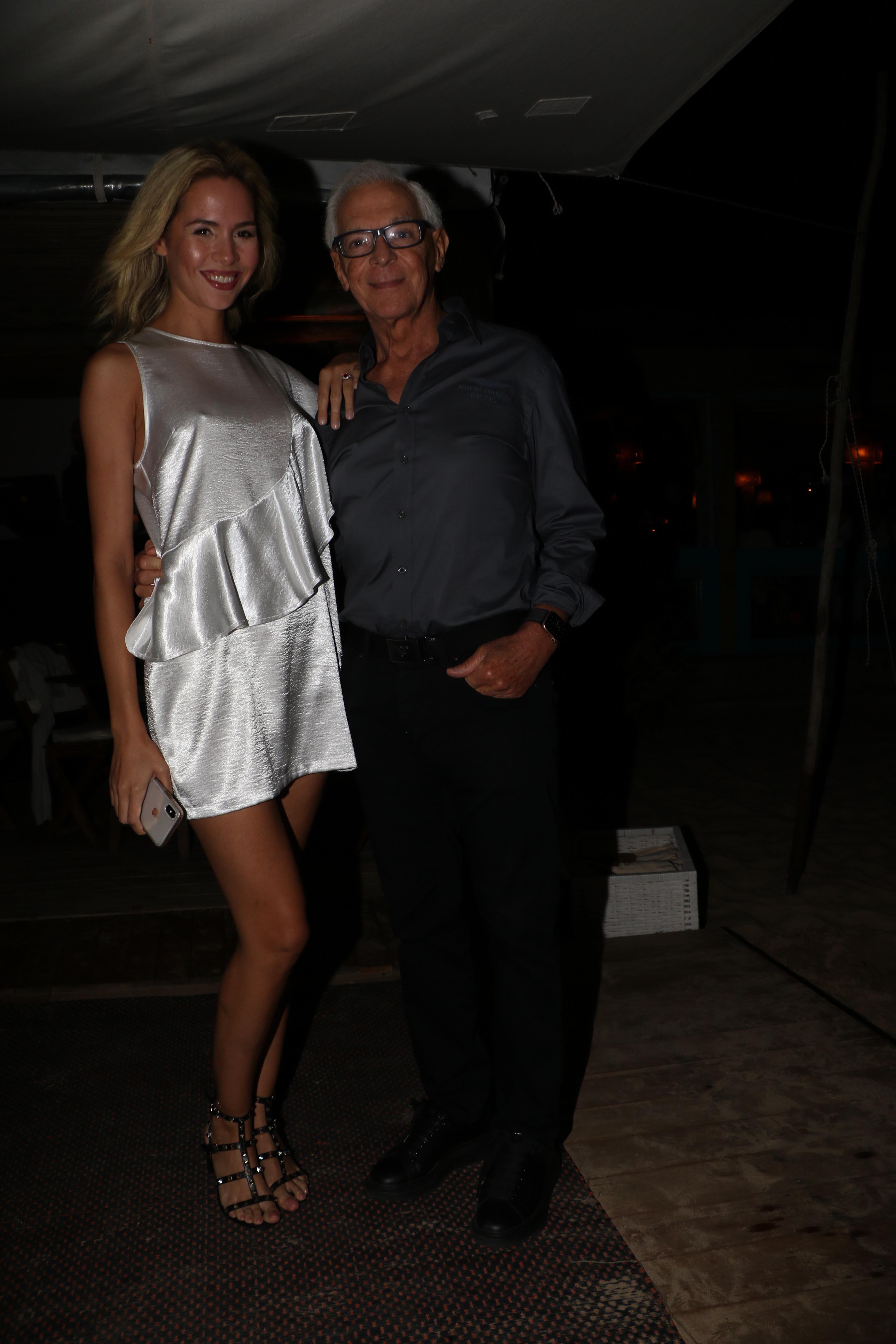 Clásico y sobrio, el empresario Eduardo Costantini