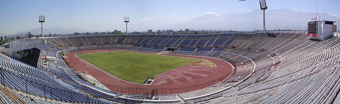 El Estadio Nacional de Chile, designado para la definición del 23 de noviembre
