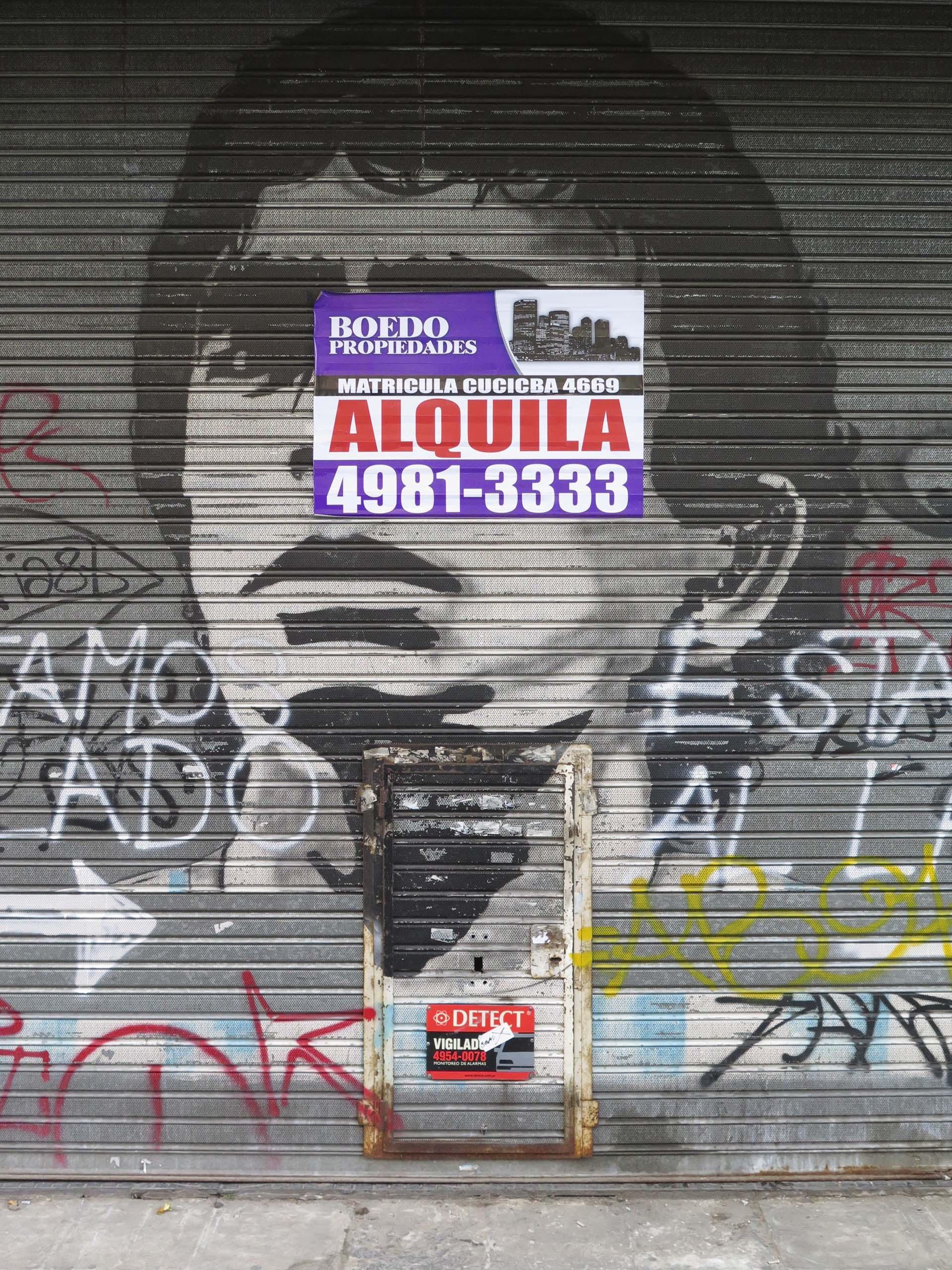 Pinceladas del barrio de Almagro, dos años atrás: