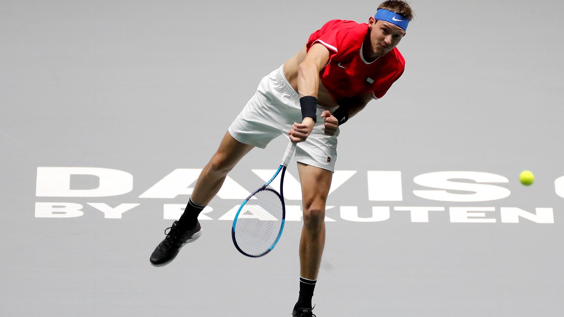 Nicolás Jarry fue suspendido provisionalmente por doping positivo en la Copa Davis 2019 - Infobae