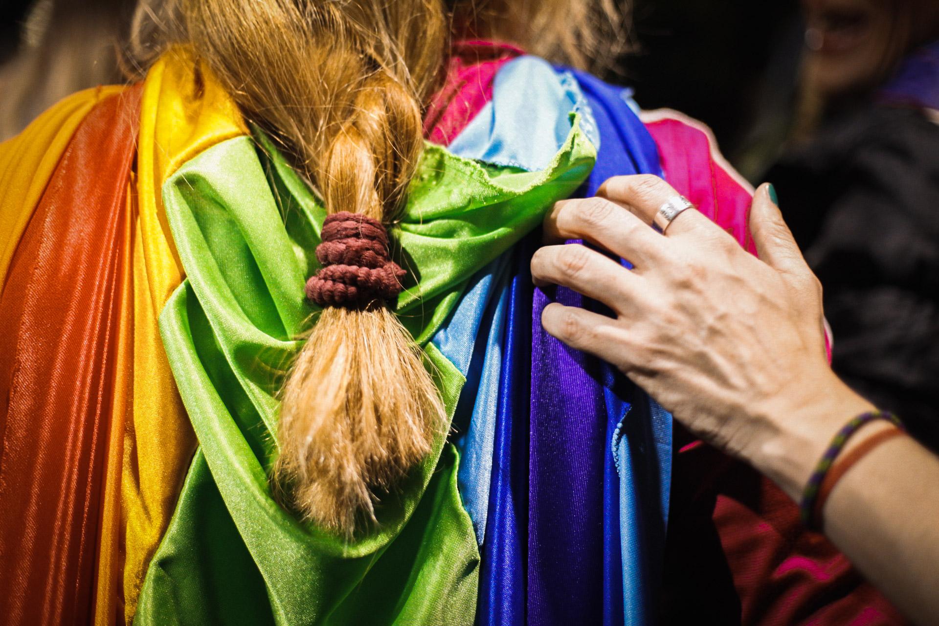 La comunidad LGTB+ estuvo presente, como lo viene haciendo desde los principios de estos encuentros