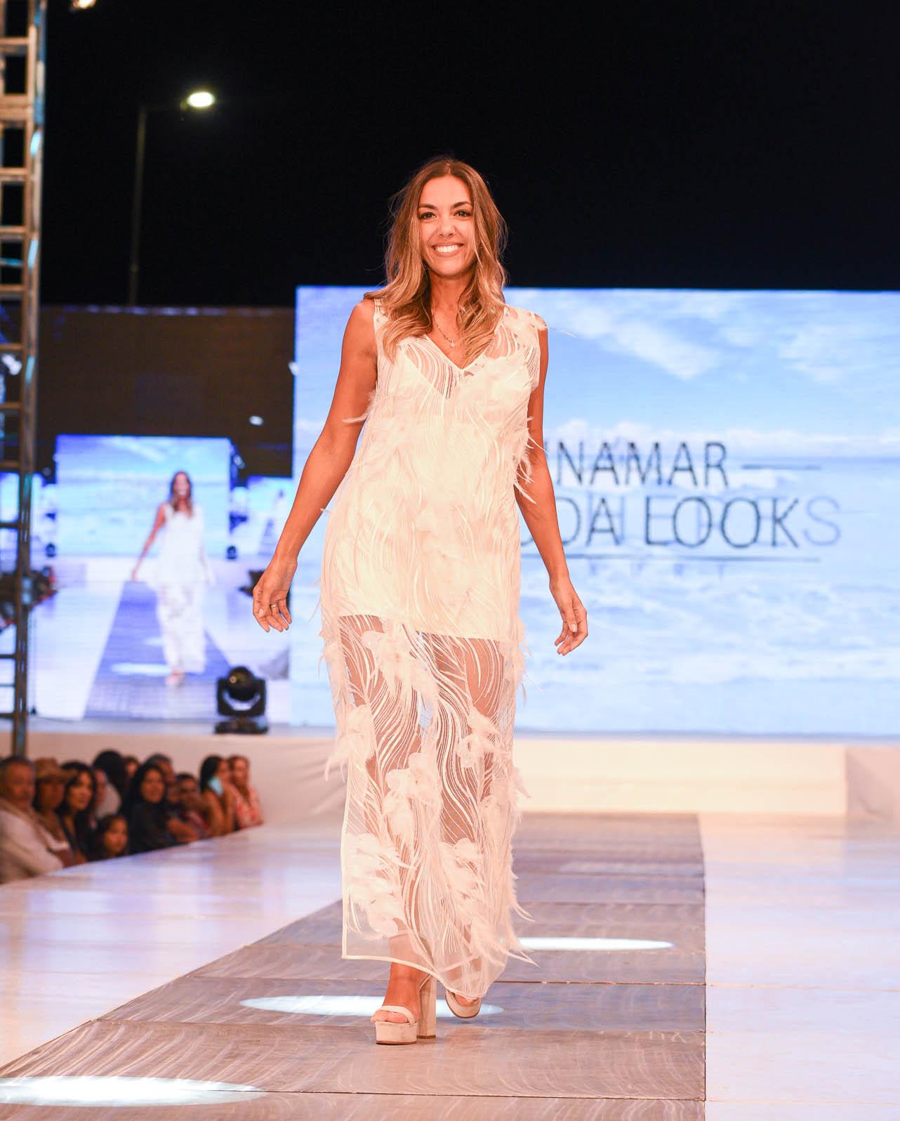Glamour, diseño emergente y música caracterizaron el súper desfile de la temporada argentina en Pinamar