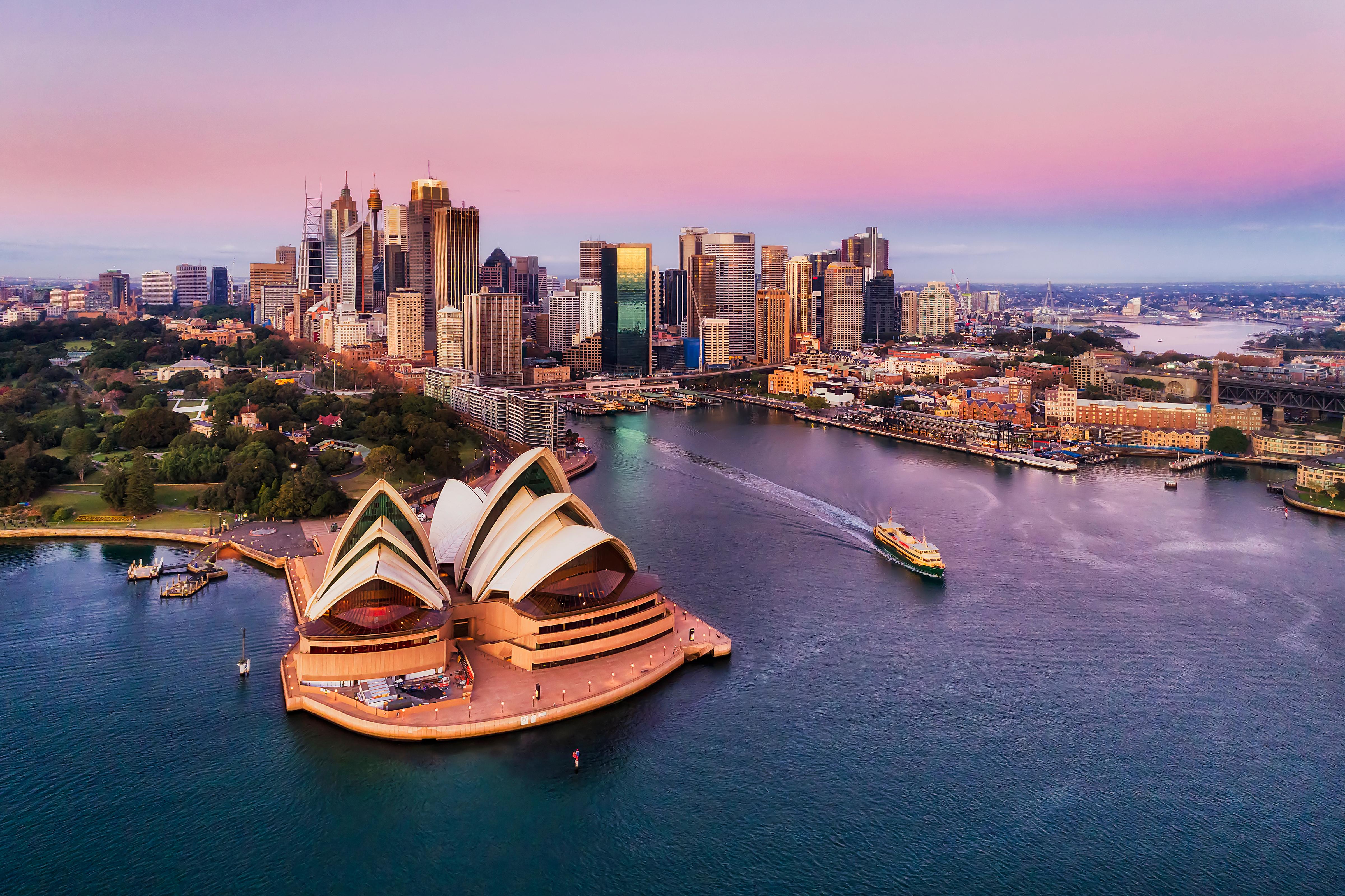 También es la ciudad más cara del hemisferio sur para vivir en 2019, Sydney, la ciudad más grande de Australia y la región más amplia de Australasia, todavía tiene un puntaje de dos dígitos, aunque ha bajado 0.7 puntos de su puntaje de 2019 de 11.7 (Shutterstock)