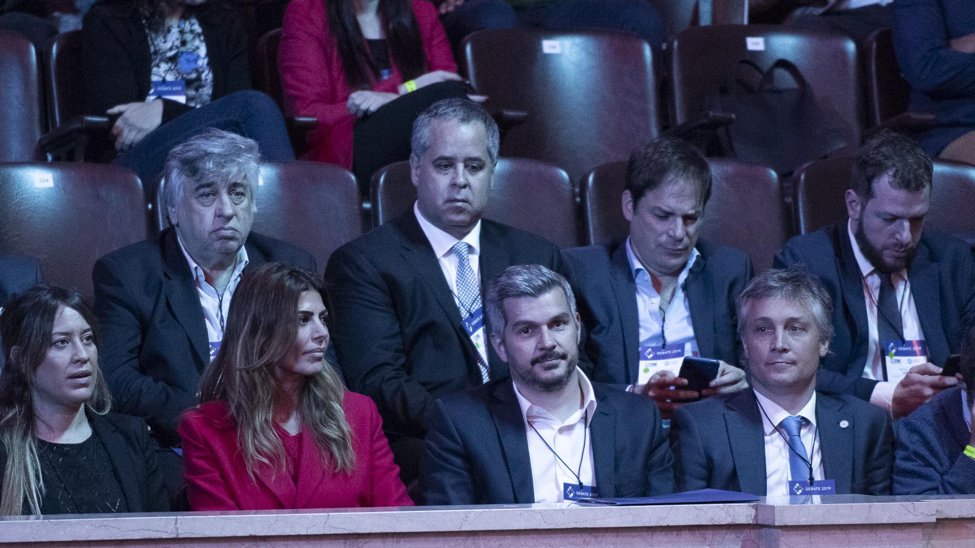La delegación que acompañó a Roberto Lavagna y Mauricio Macri
