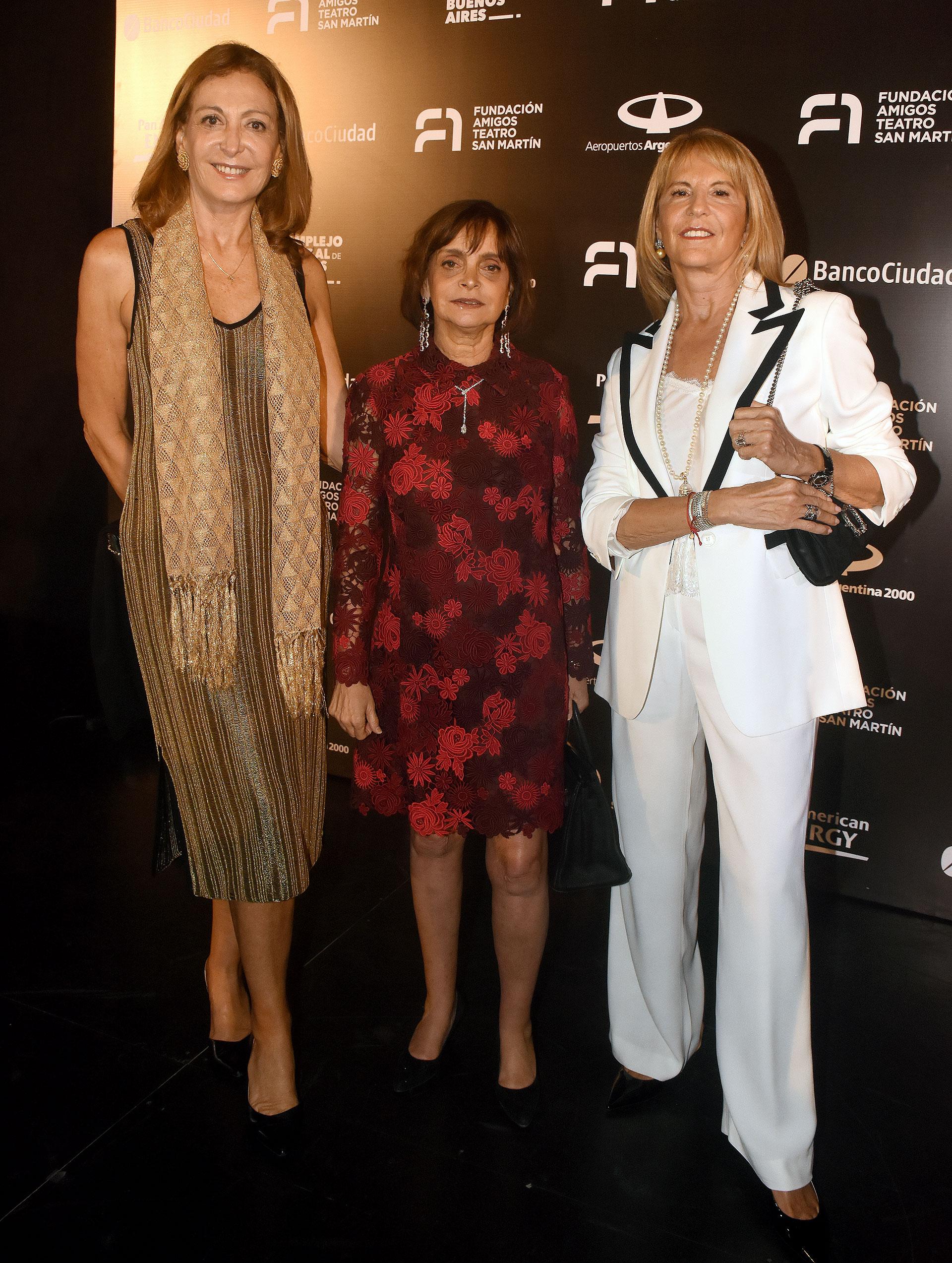 Mariel Llorens de Quintana, Claudia Stad y Mónica Balestrini de Aufiero