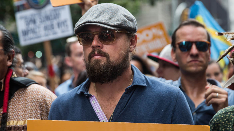 El actor está muy comprometido con el medio ambiente y es una de las caras visibles que más lucha contra el cambio climático