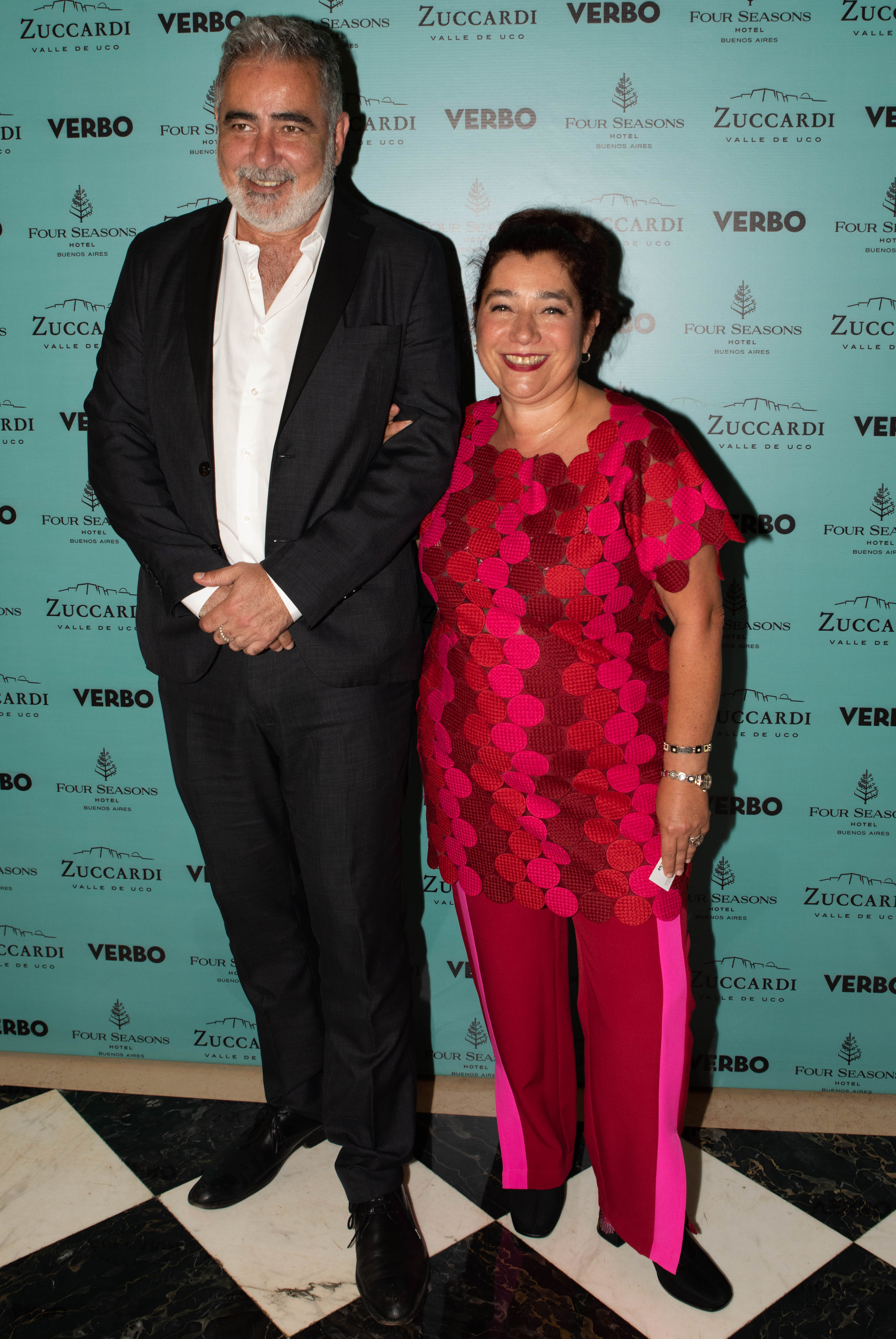 Emilio Xarrier, gerente general de MALBA, y Mariela Ivanier