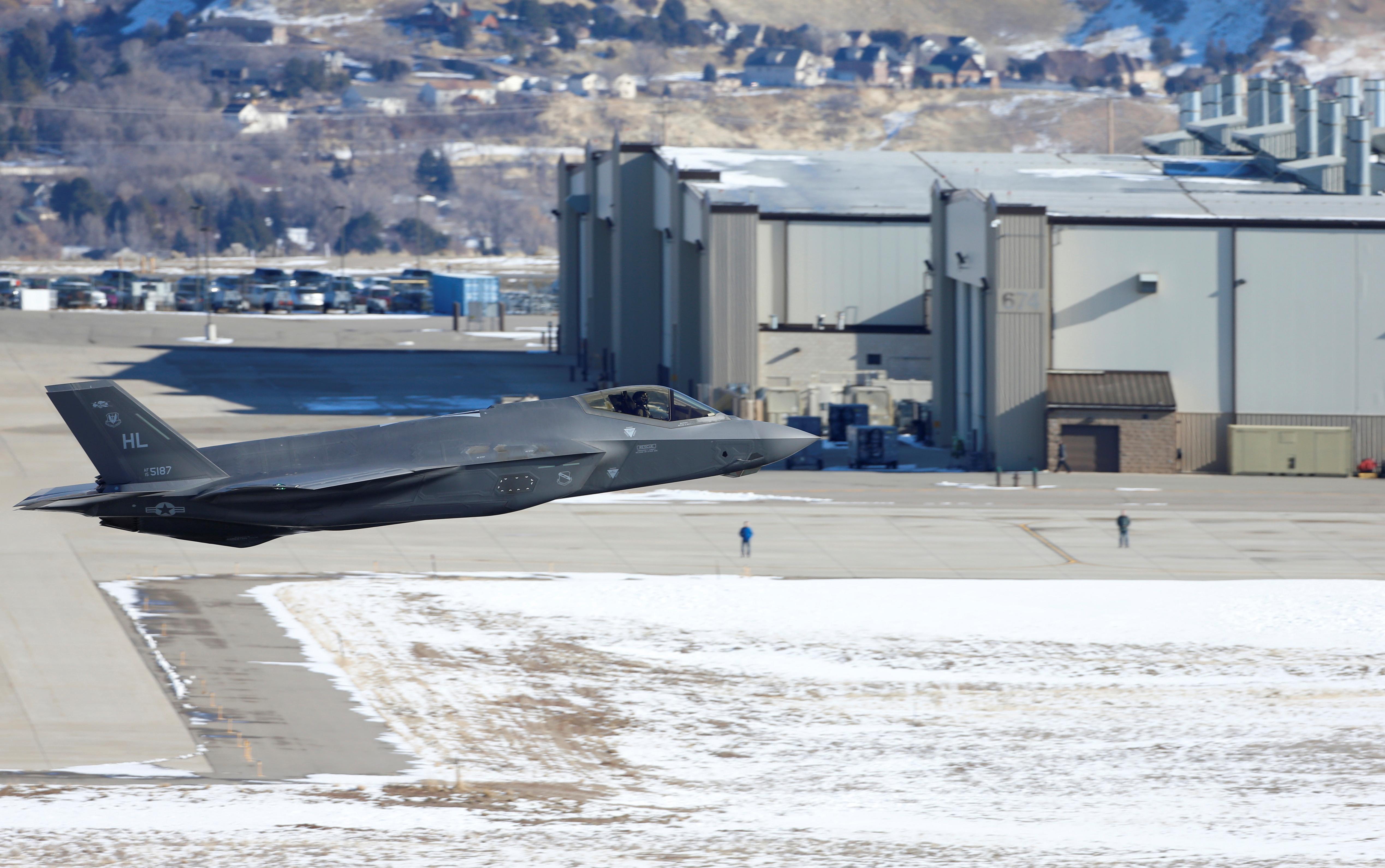 Los F-35 son uno de los modelos más avanzados de la Fuerza Aérea de los Estados Unidos (Reuters)