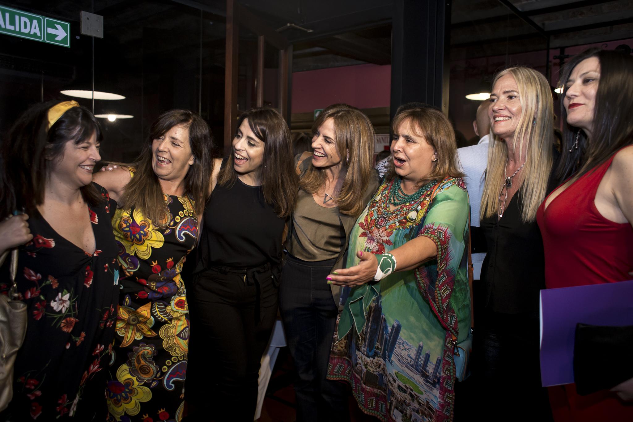 Diputadas y dirigentas del Frente de Todos acompañaron a Victoria Donda en el evento
