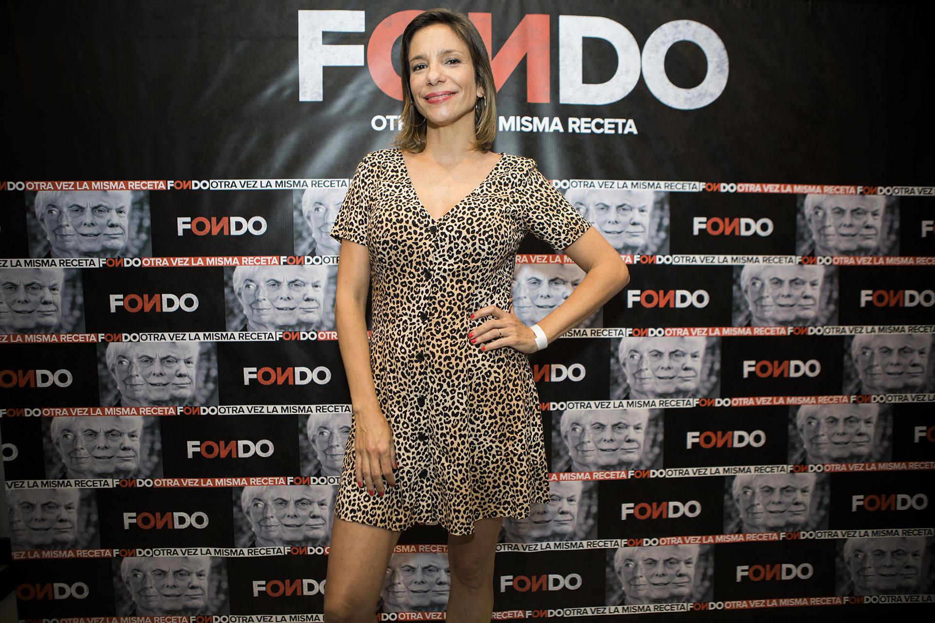 La periodista Ángela Lerena