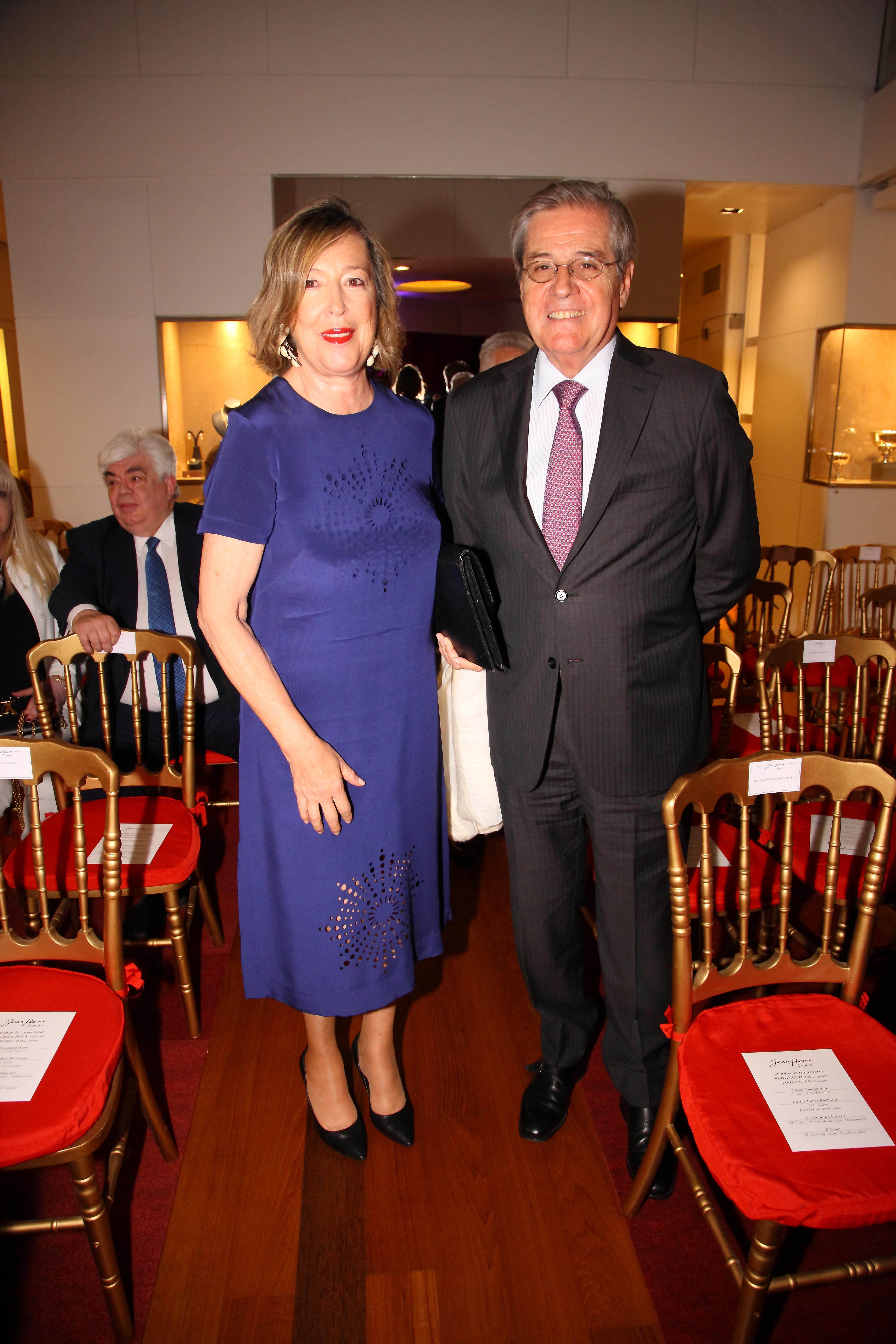 Luis Alberto Erize y su mujer Mónica