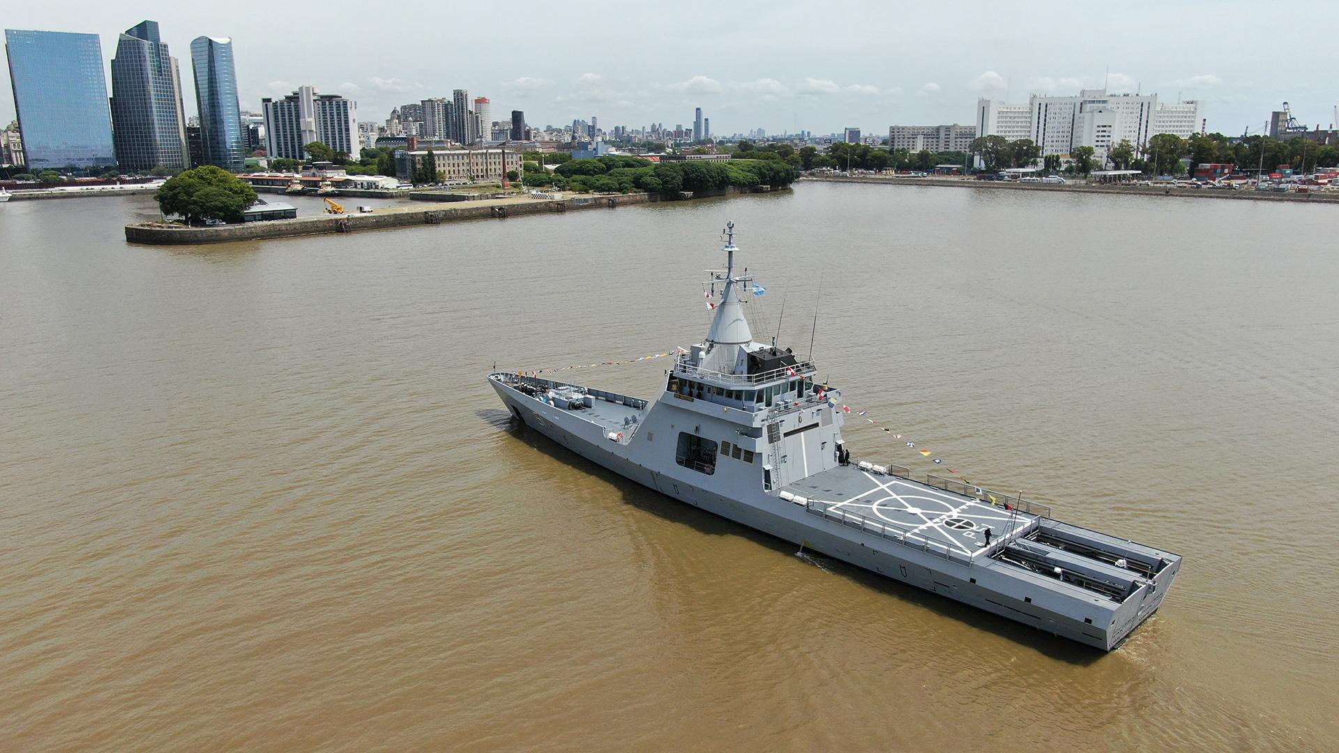 Llegó a Buenos Aires el primer patrullero oceánico de origen francés para la Armada Argentina