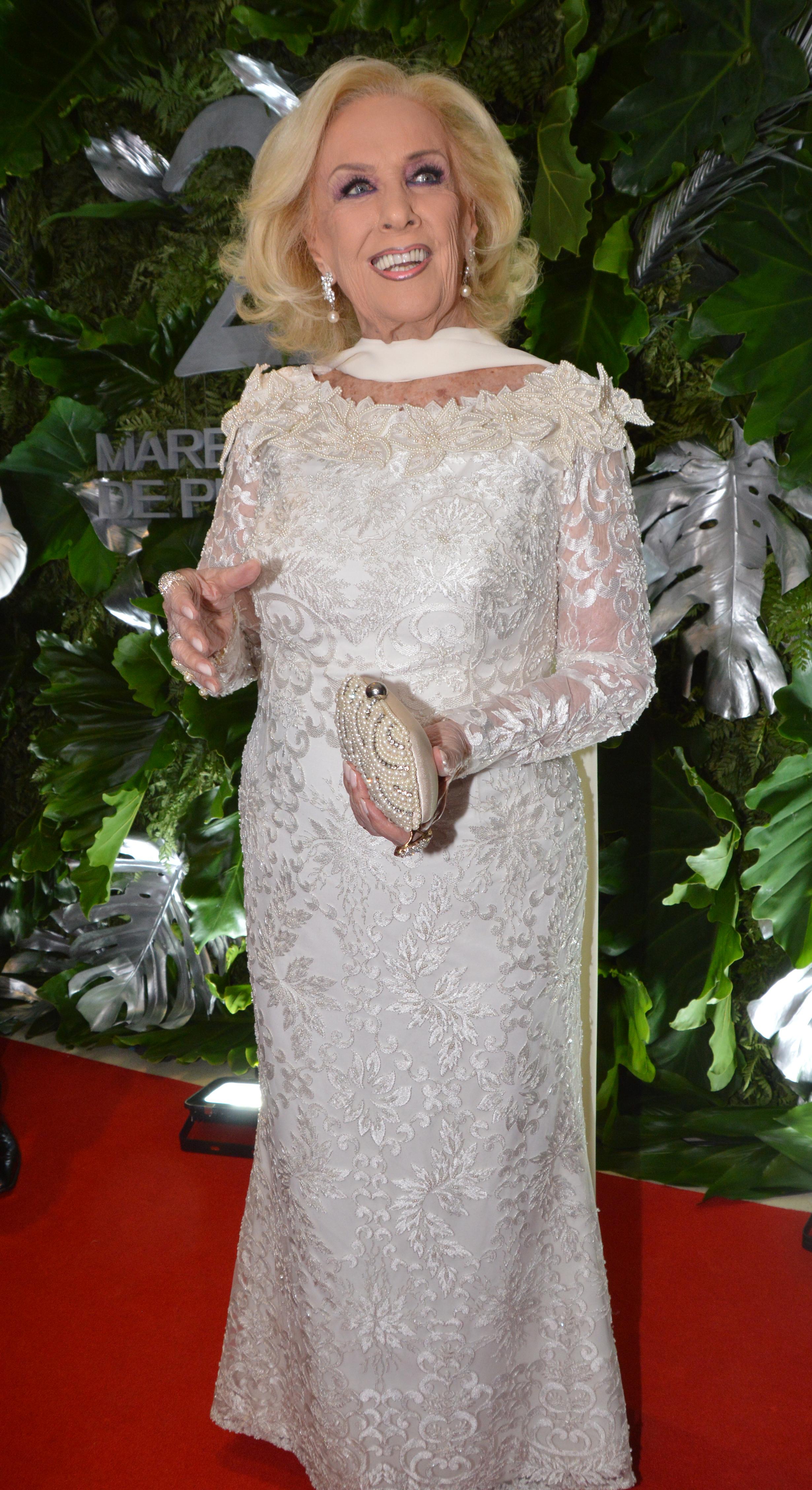 Mirtha Legrand lució súper elegante (Fotos: Eduardo Aguada / Teleshow)