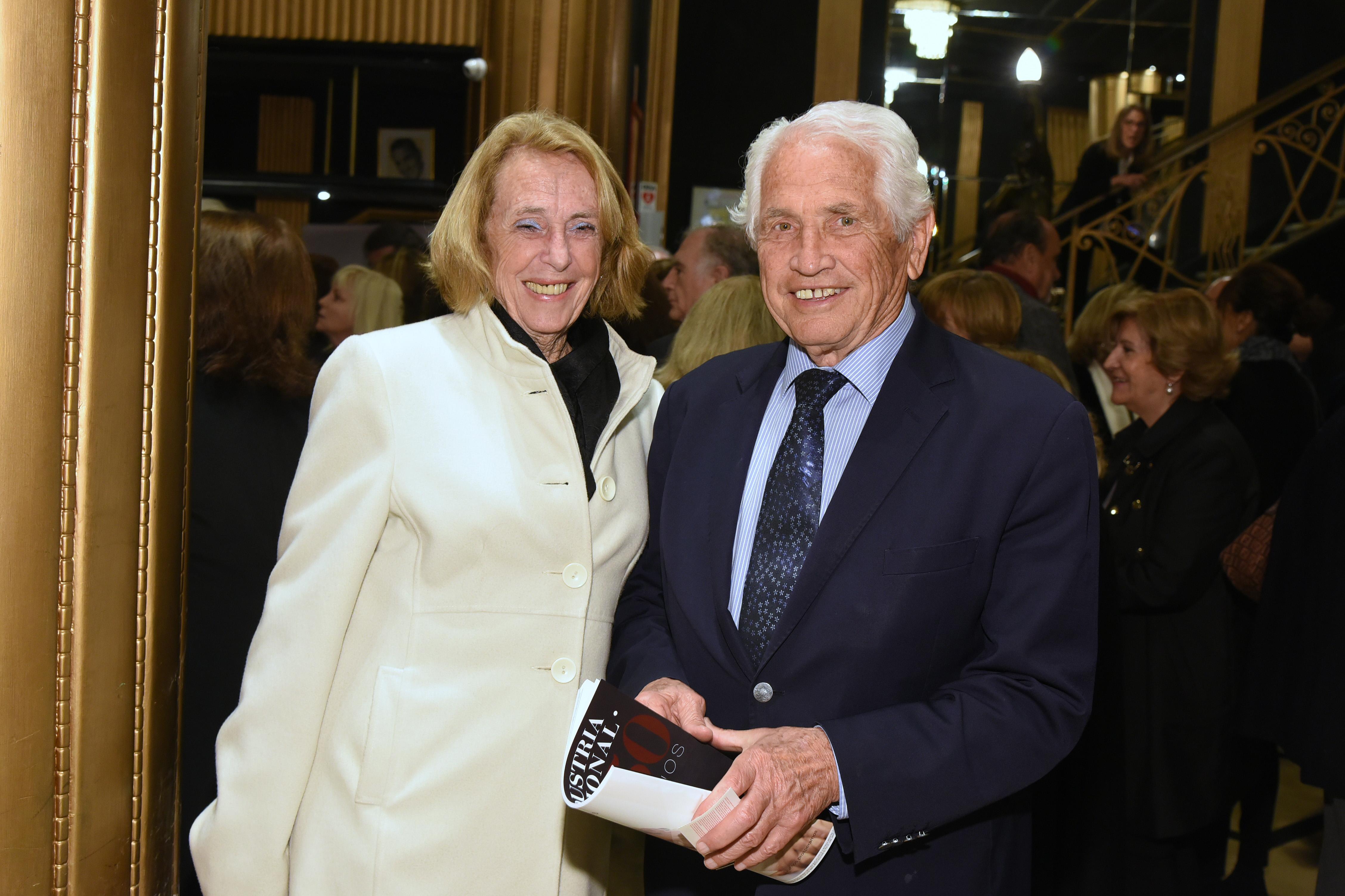 María Elena Ferrante y Carlos Contepomi