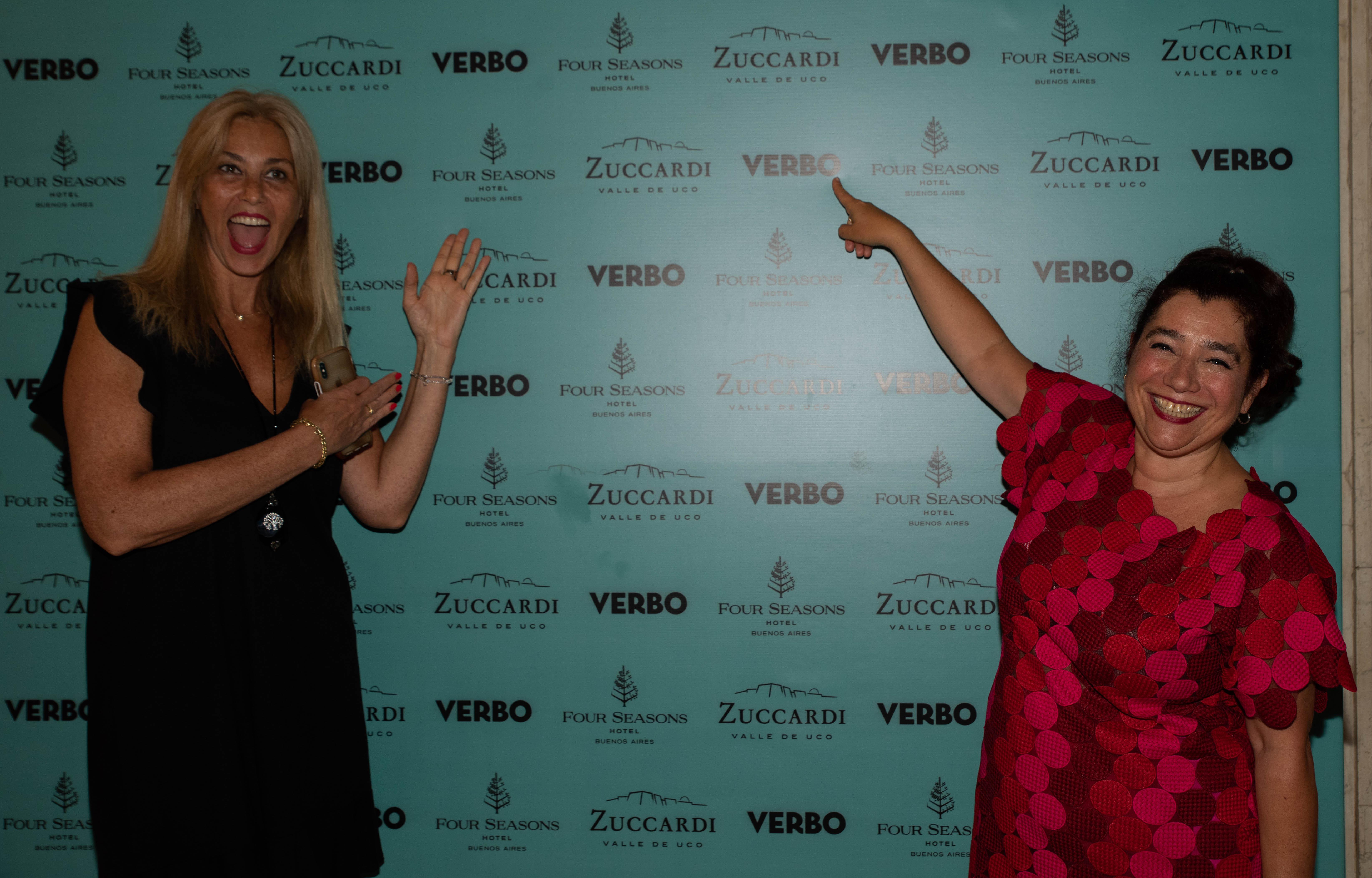 Miriam Flomembaum, directora de Catering de Four Seasons Buenos Aires, y Mariela Ivanier