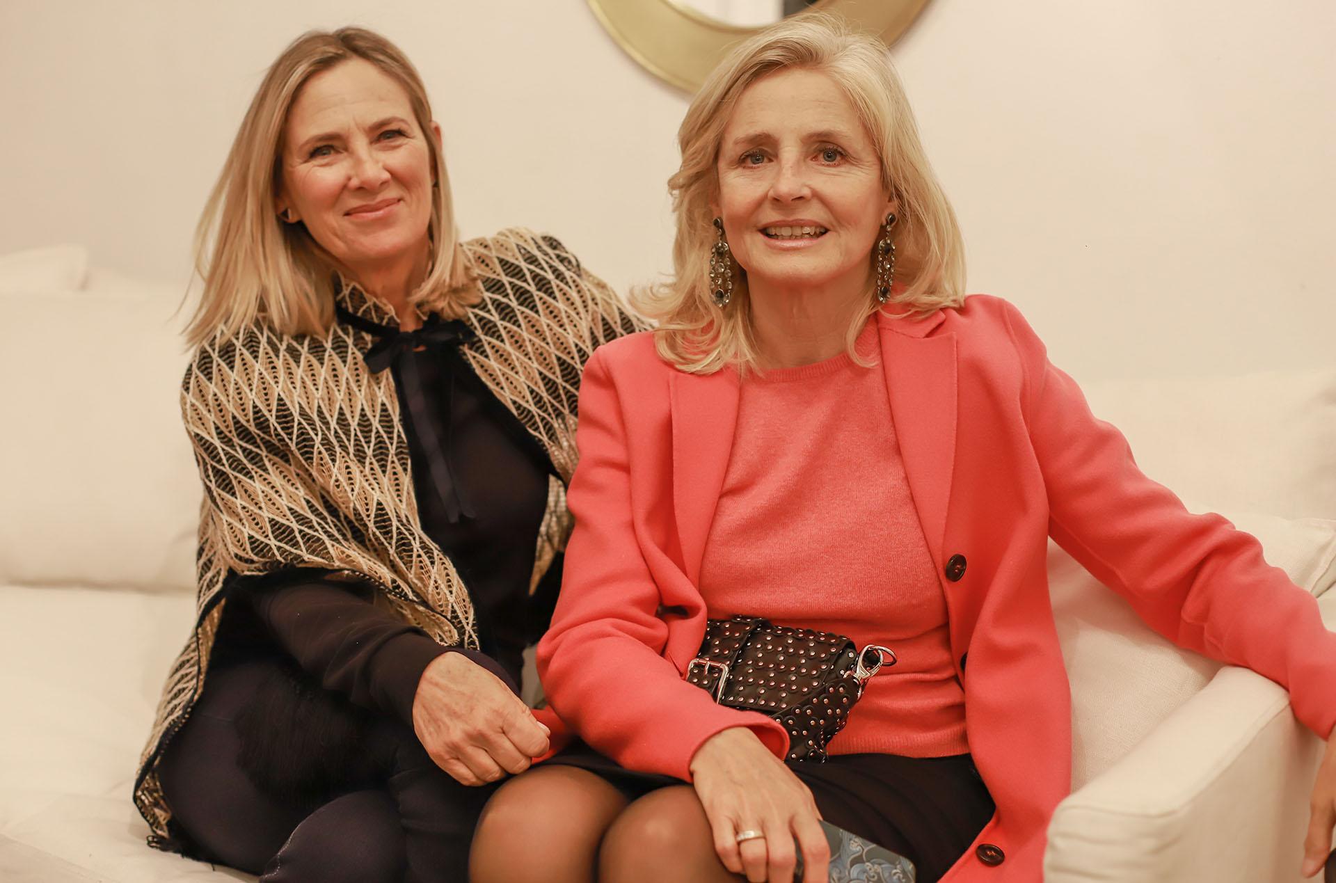 Sol Rueda y Cecilia Zuberbuhler