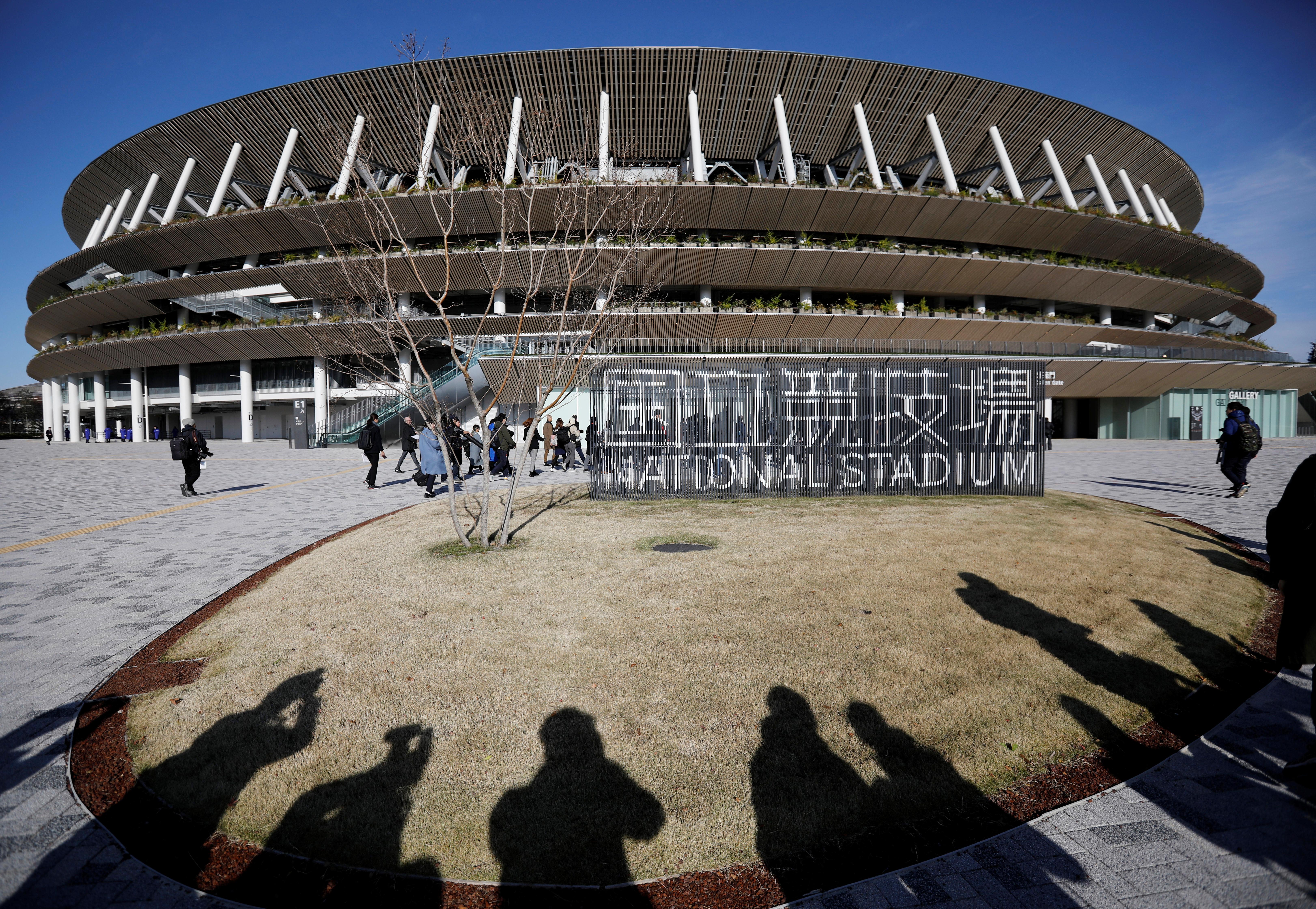 El proyecto de este estadio no fue el inicial, ya que anteriormente se había presentado otro que finalmente fue descartado por su alto costo