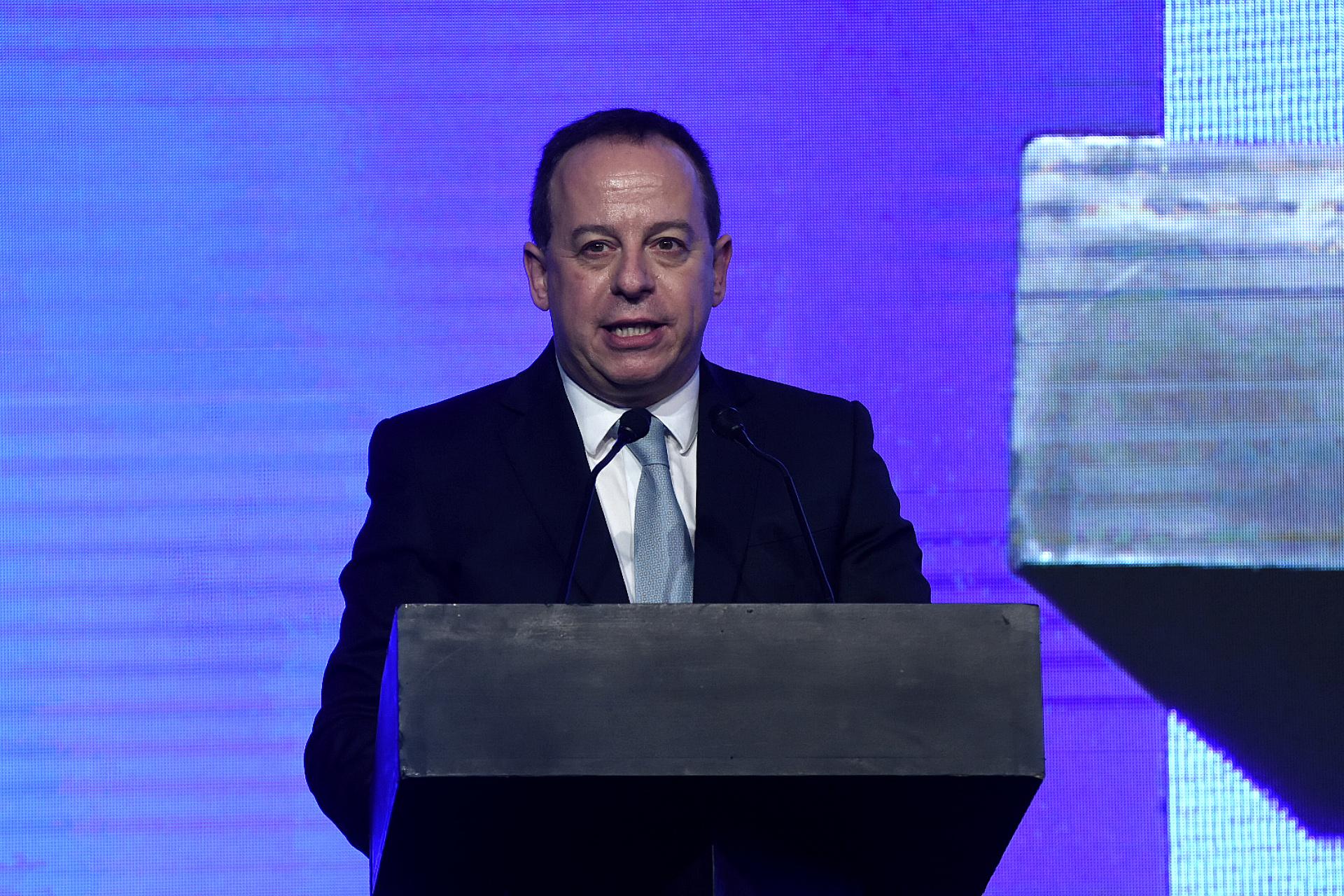 El presidente de Adepa, Martín Etchevers