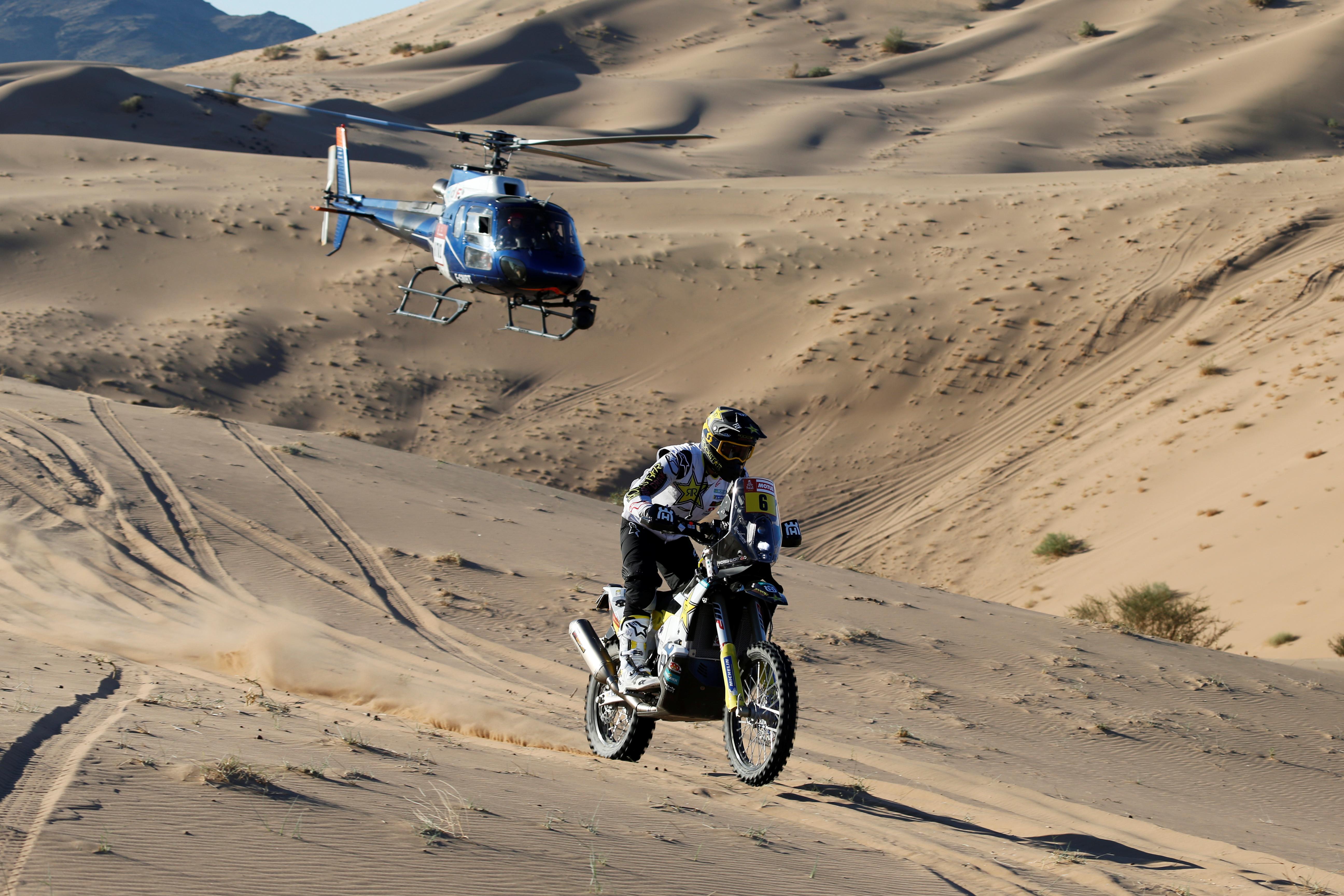El austriaco Toby Price ganó en motocicletas