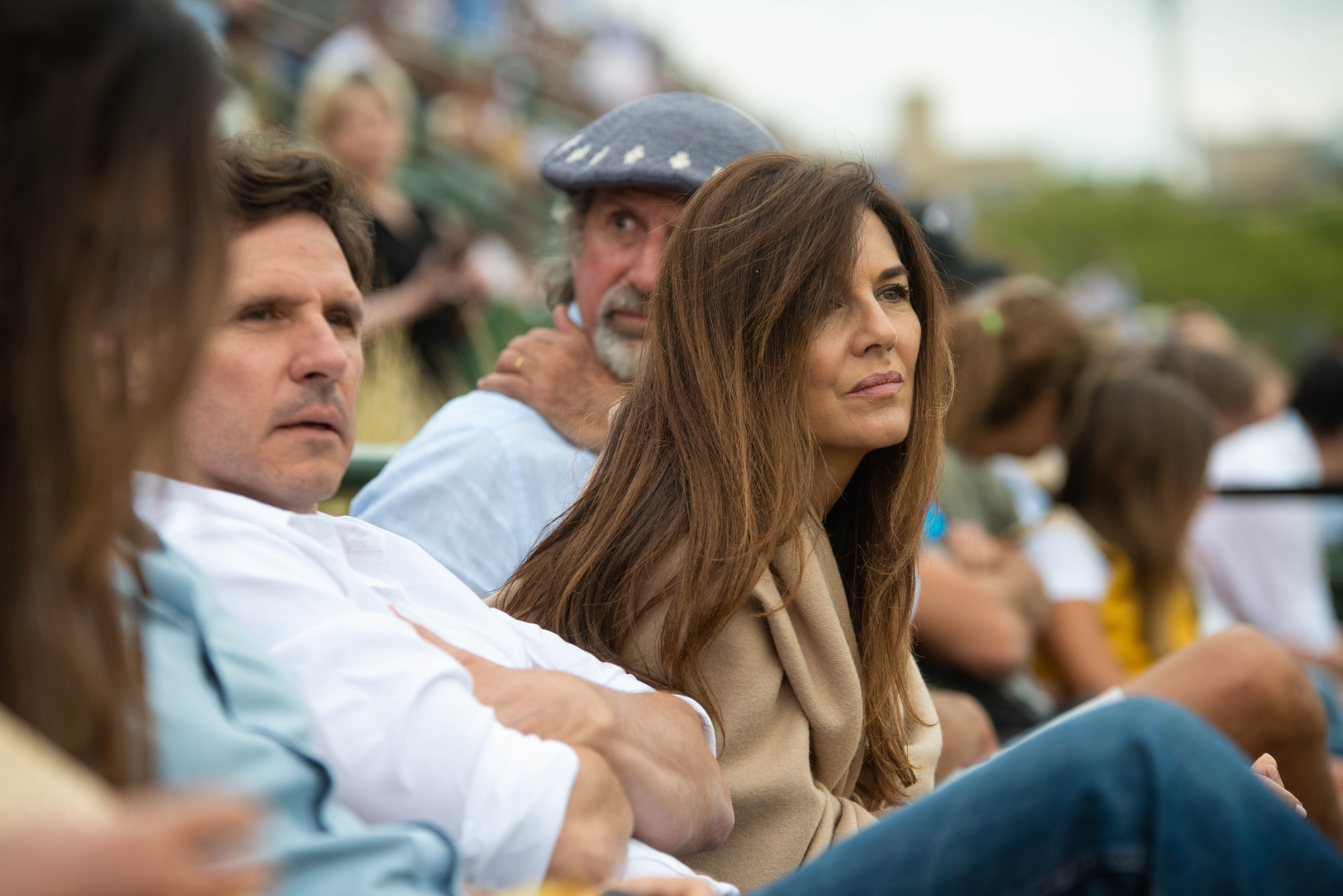 Andrea Frigerio y su marido Lucas Bocchino