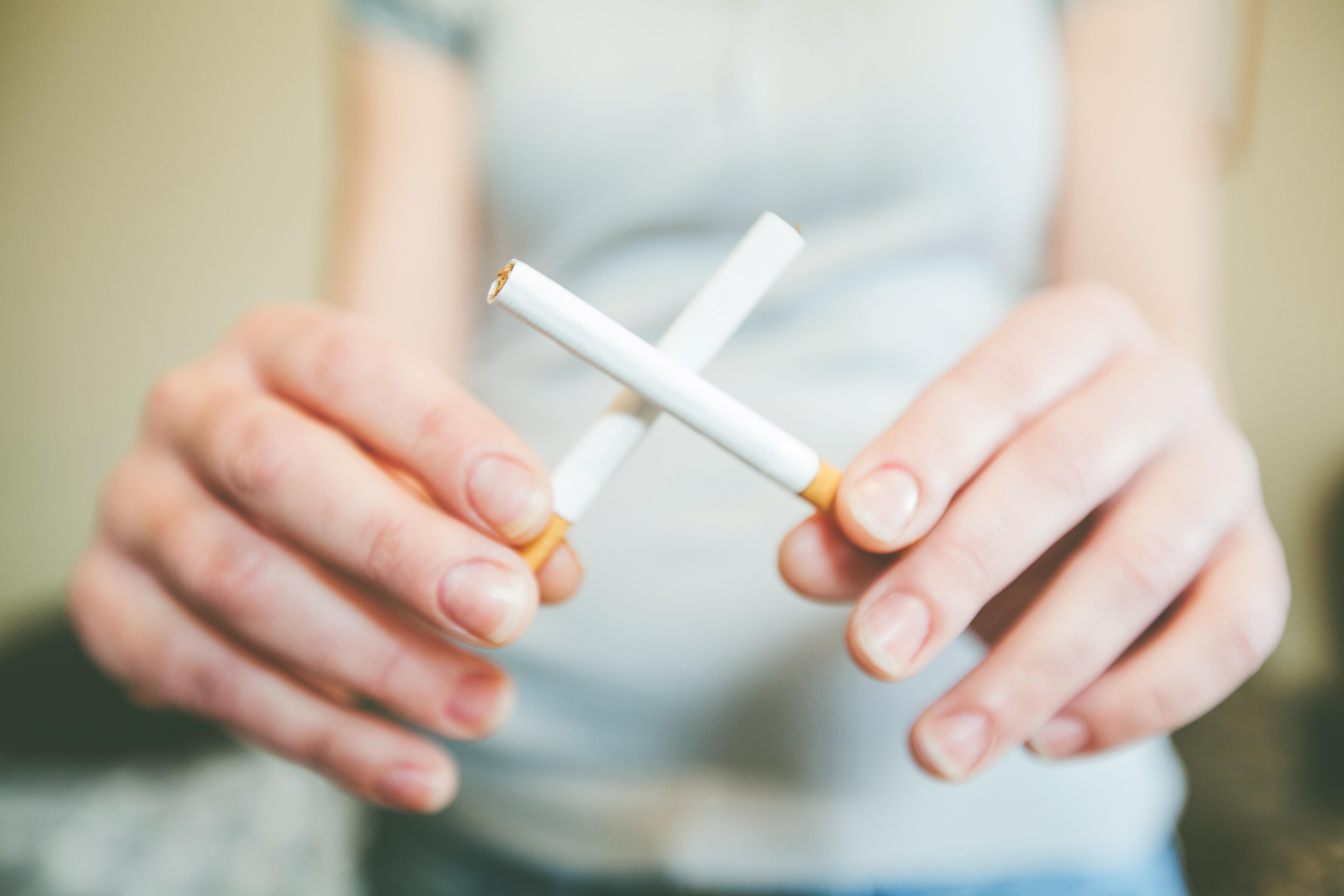 motivación para dejar de fumar y perder peso