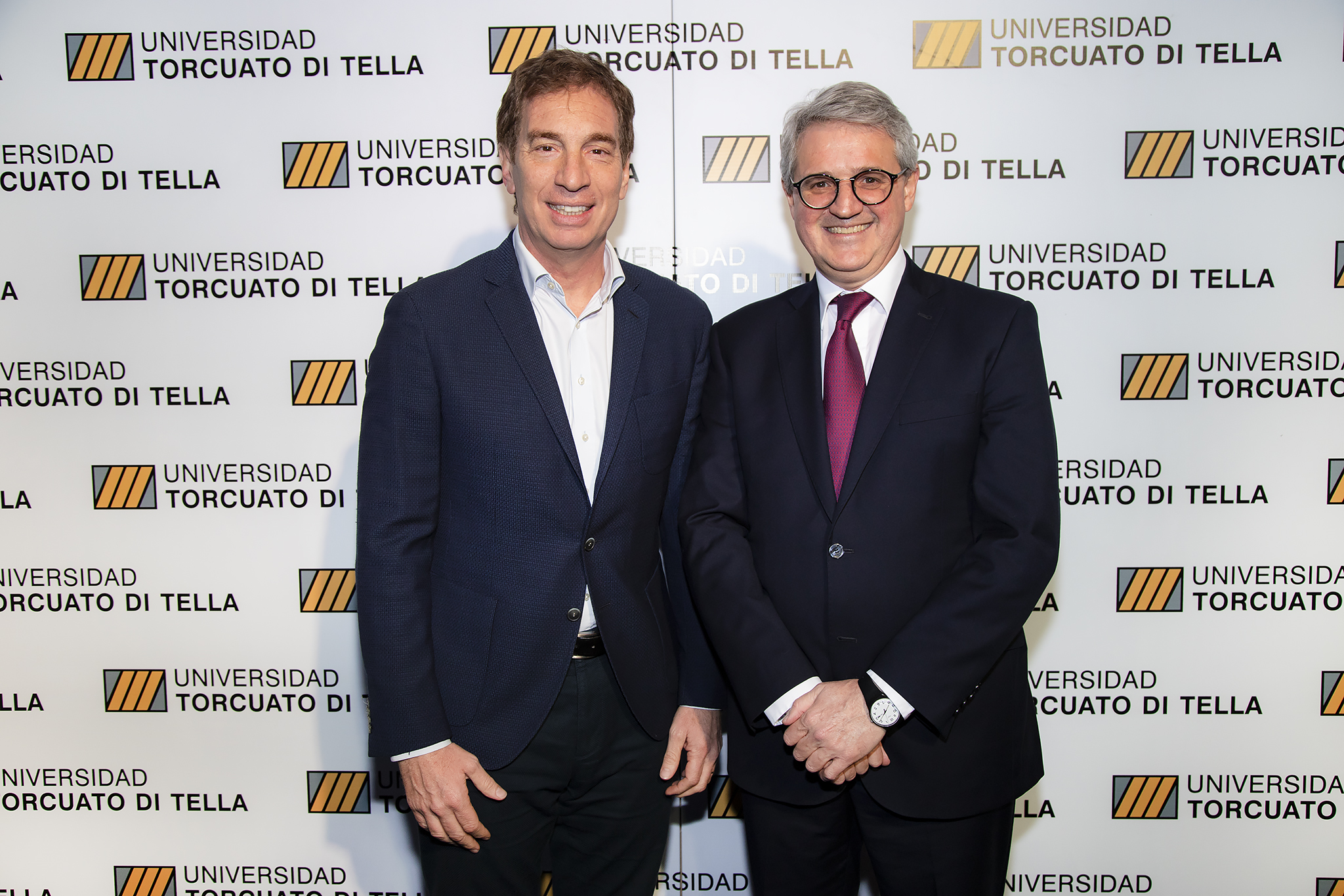 Diego Santilli, vicejefe de Gobierno porteño, y Juan José Cruces