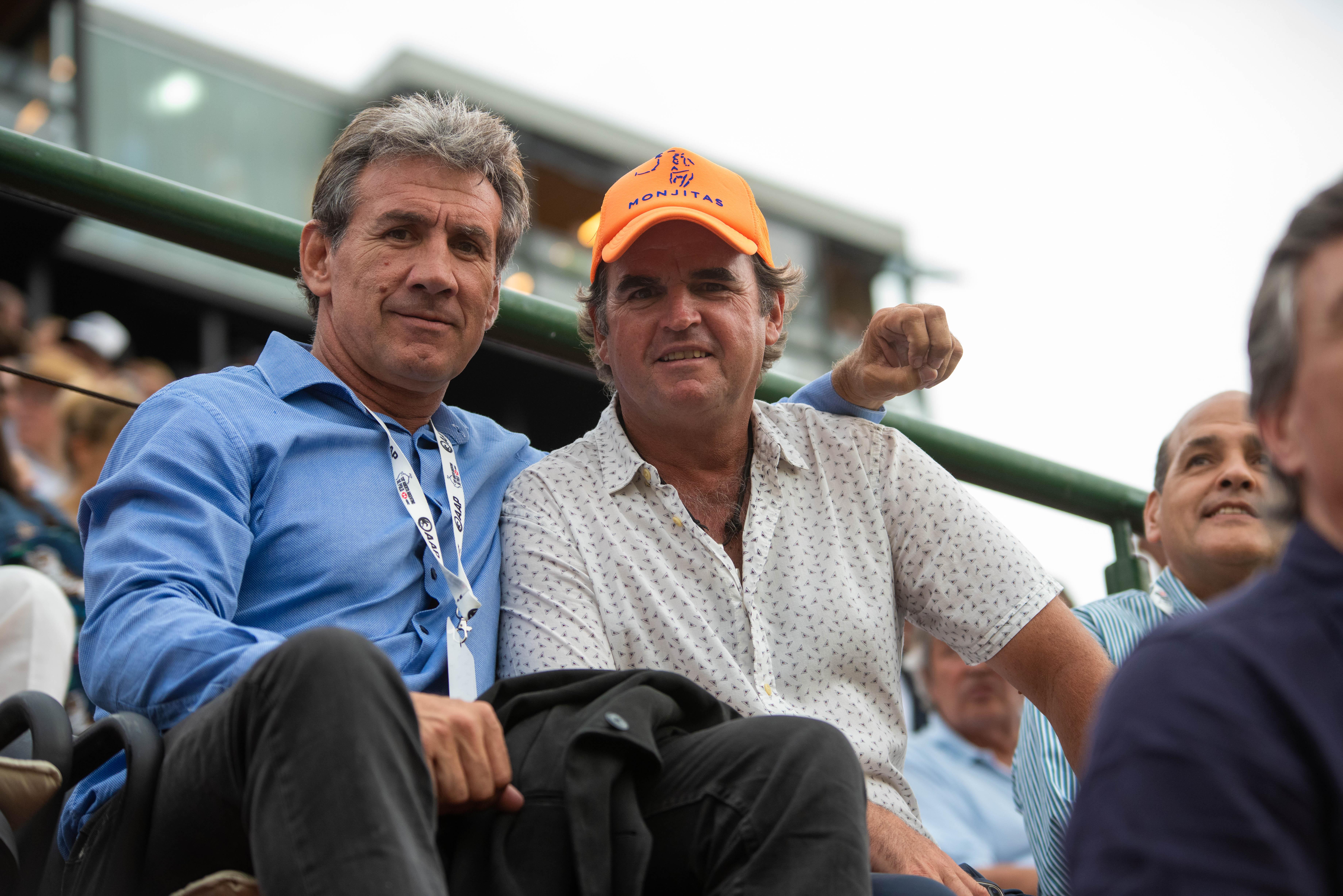 Rafael Cúneo Libarona y Eduardo Heguy