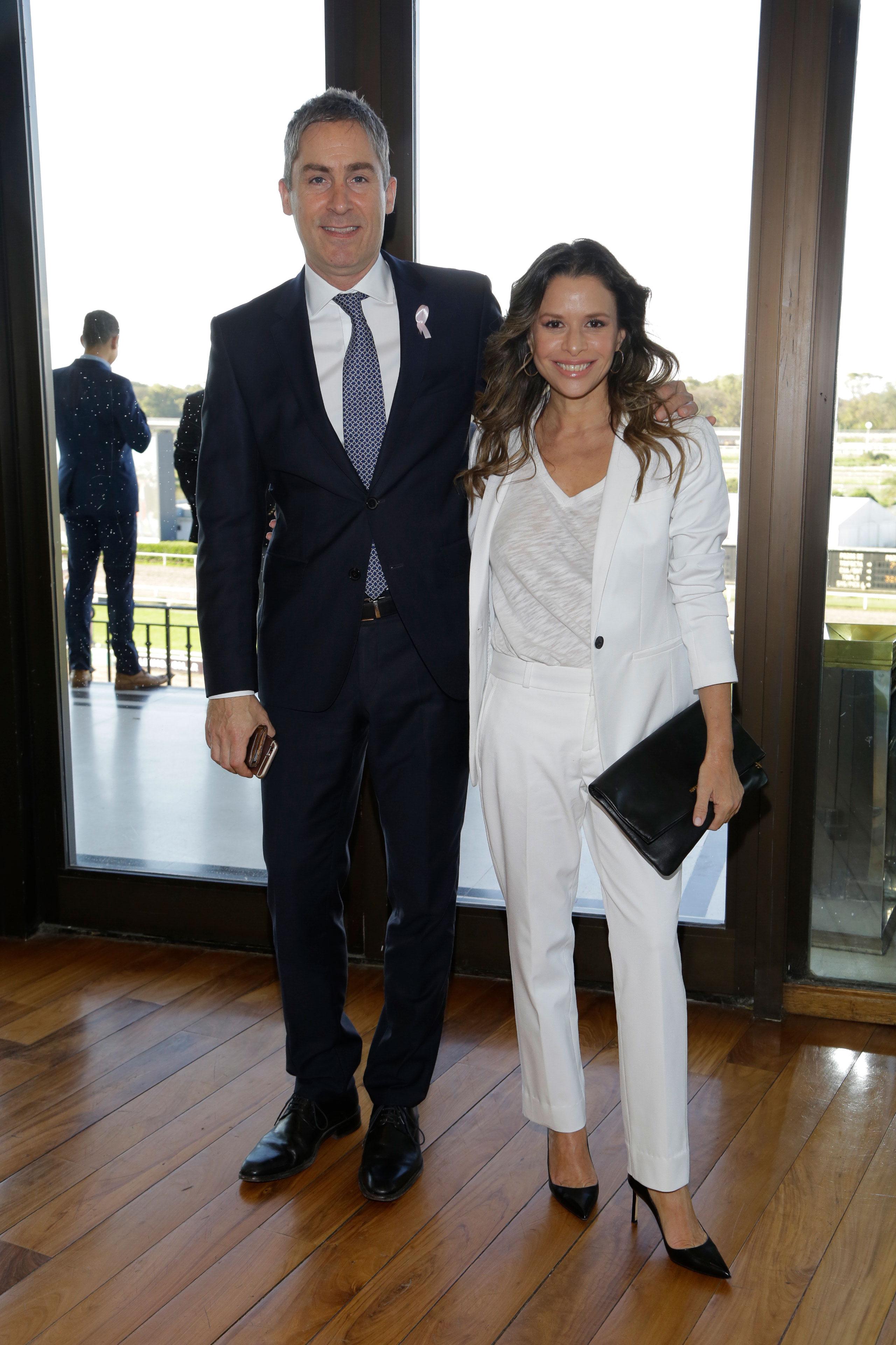 Fernando Facal y Julieta Ortega