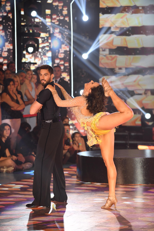 Nico y Flor jazmín bailando el Cha Cha Pop (Foto: Negro Luengo / LaFlia)