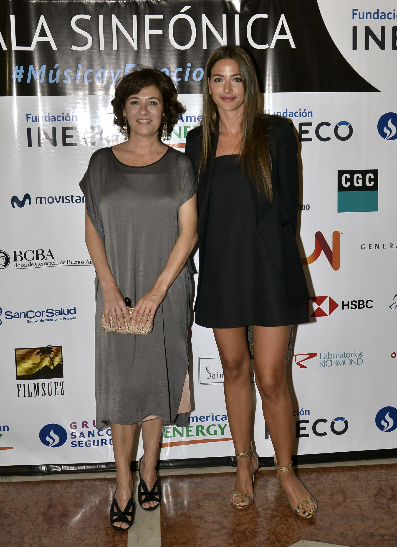 Josefina Manes y Camila Pitana