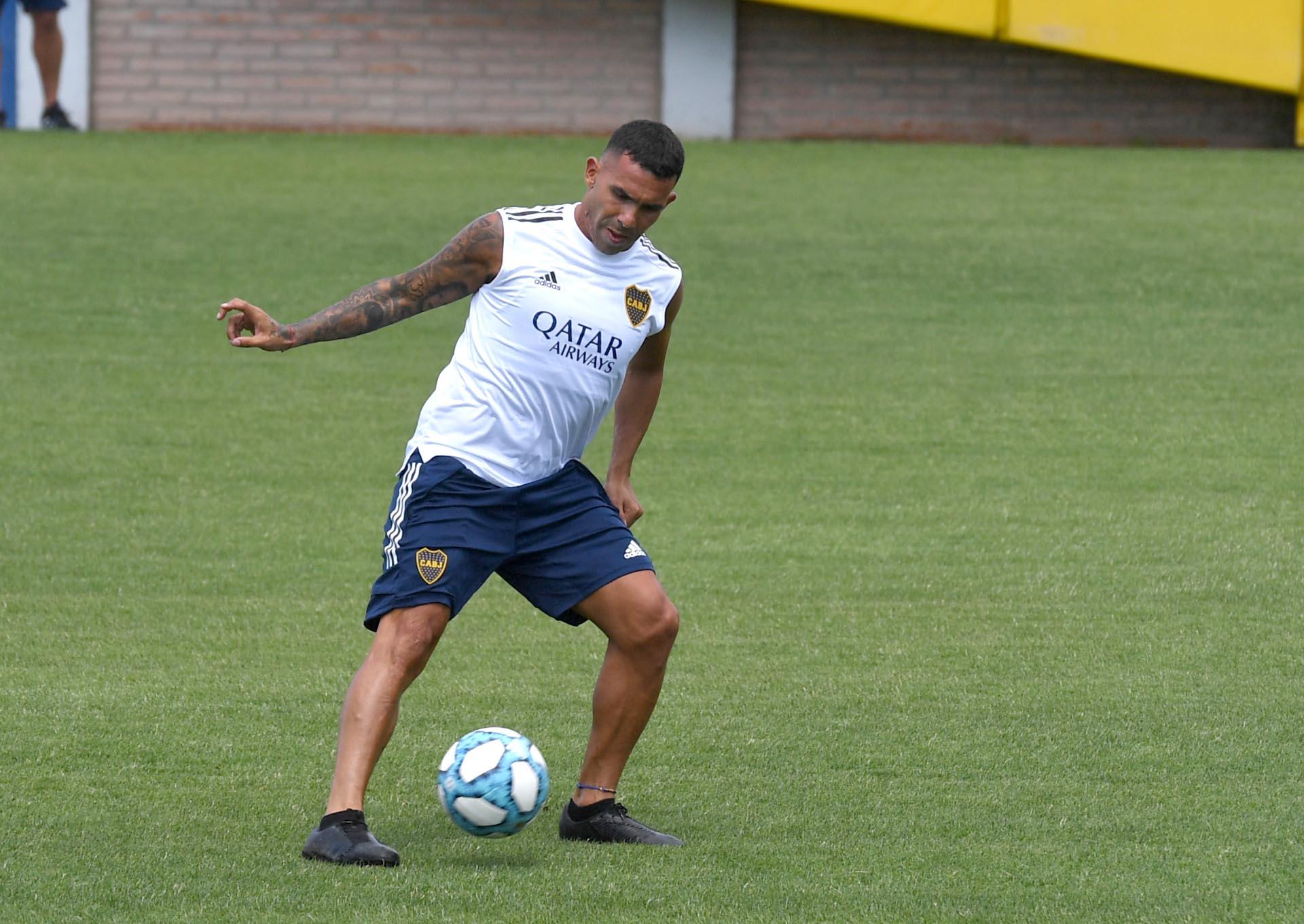 Tevez fue el primero en presentarse para el inicio de los entrenamientos