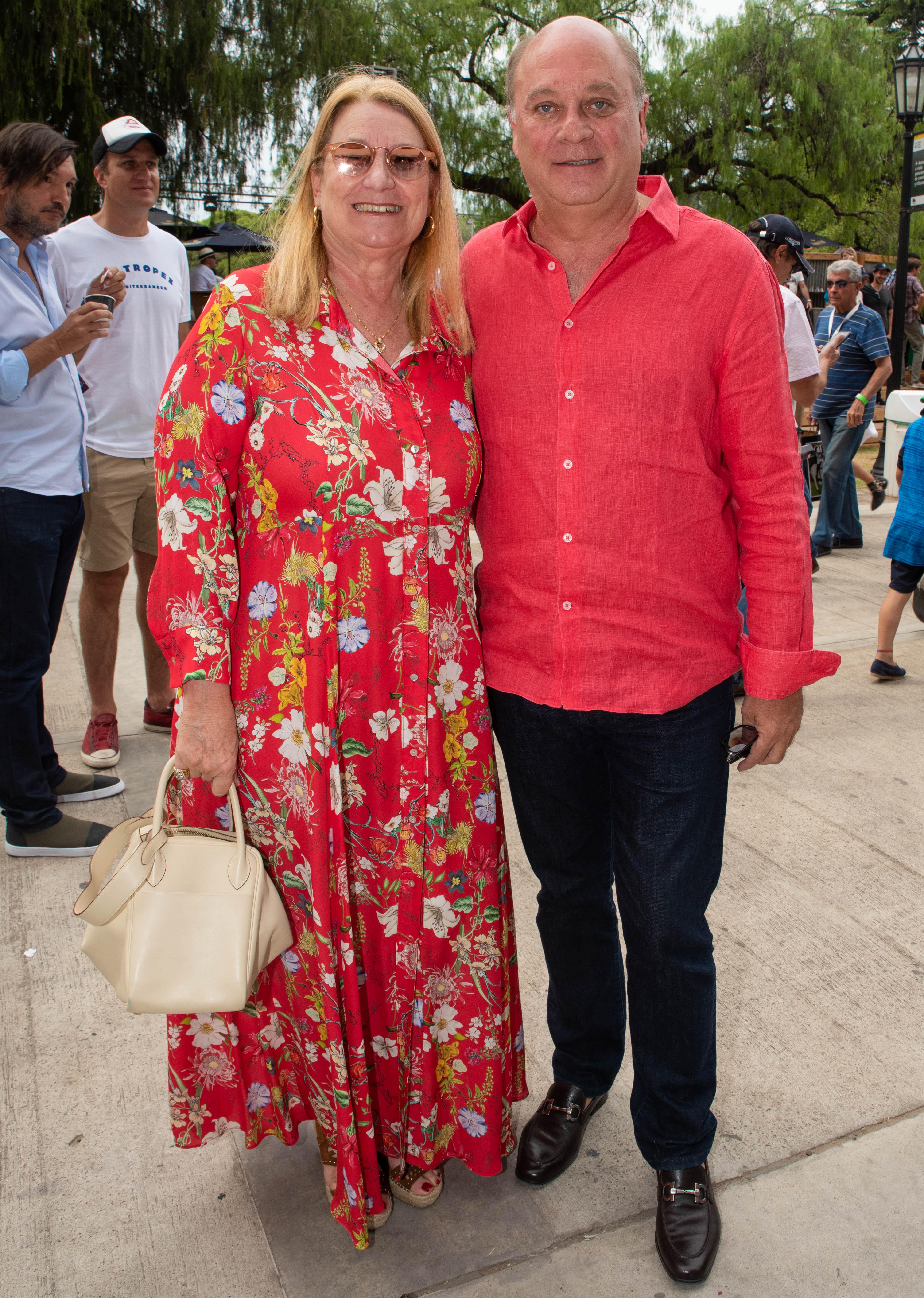 María Taquini de Blaquier y Martín Cabrales