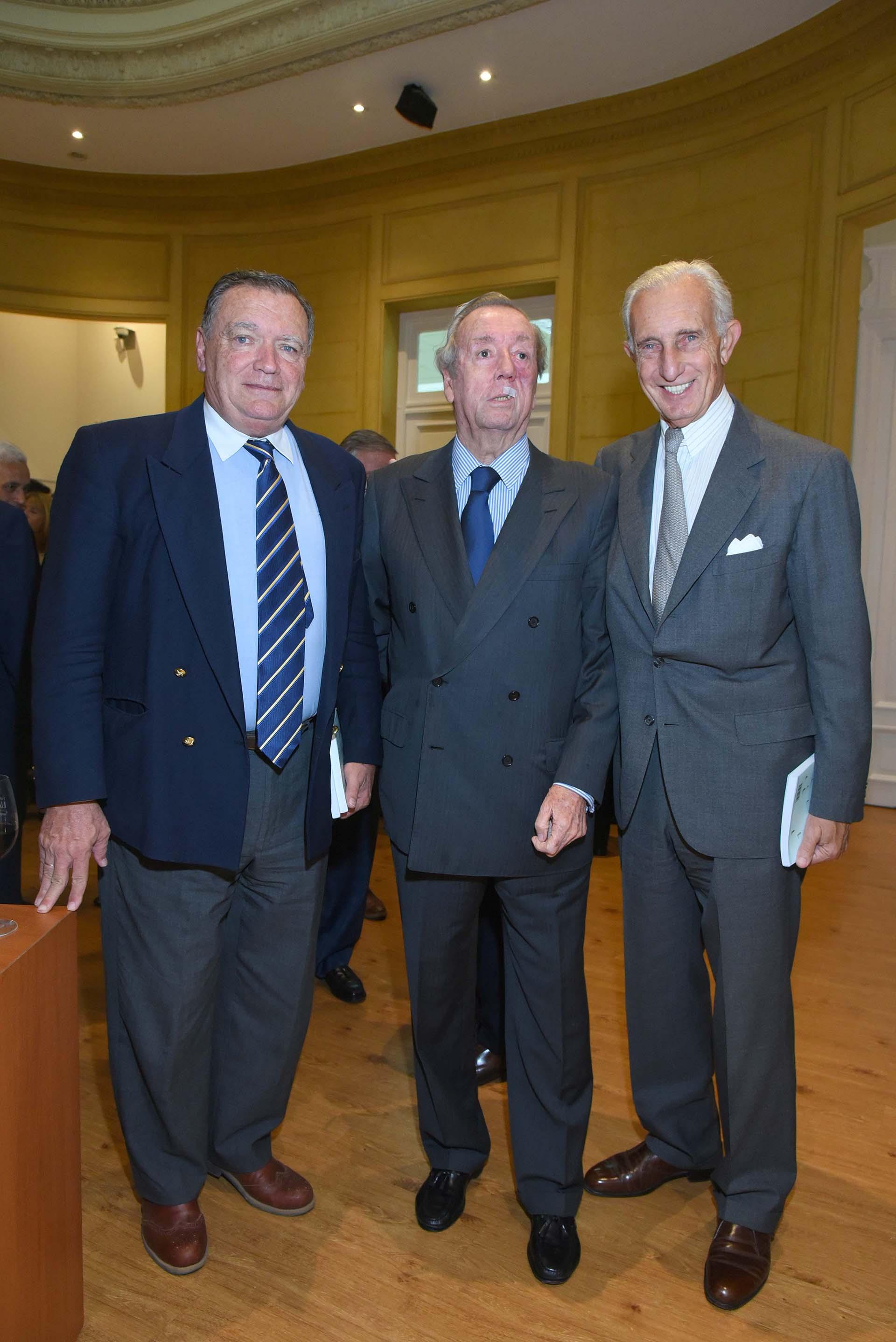 Héctor Laurence, Bruno Quintana y Jorge Neuss