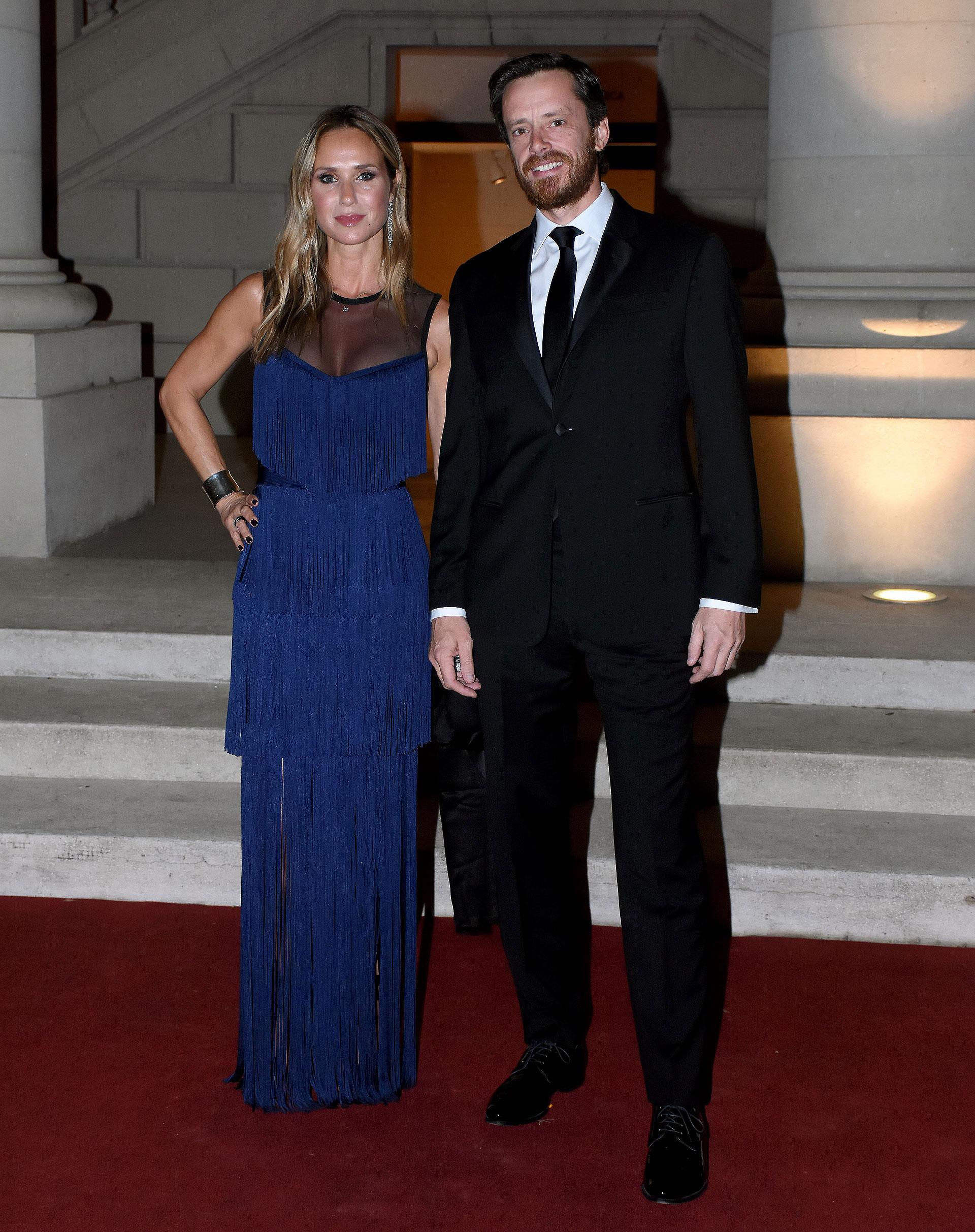 Sabine Mulliez y Pedro Aguirre Saravia