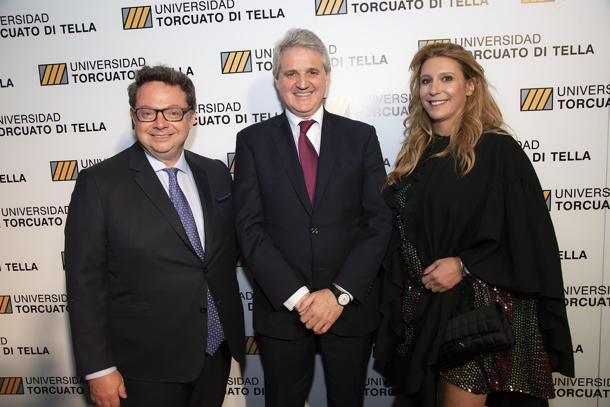 Ariel Sigal, Juan José Cruces y Amalia Amoedo