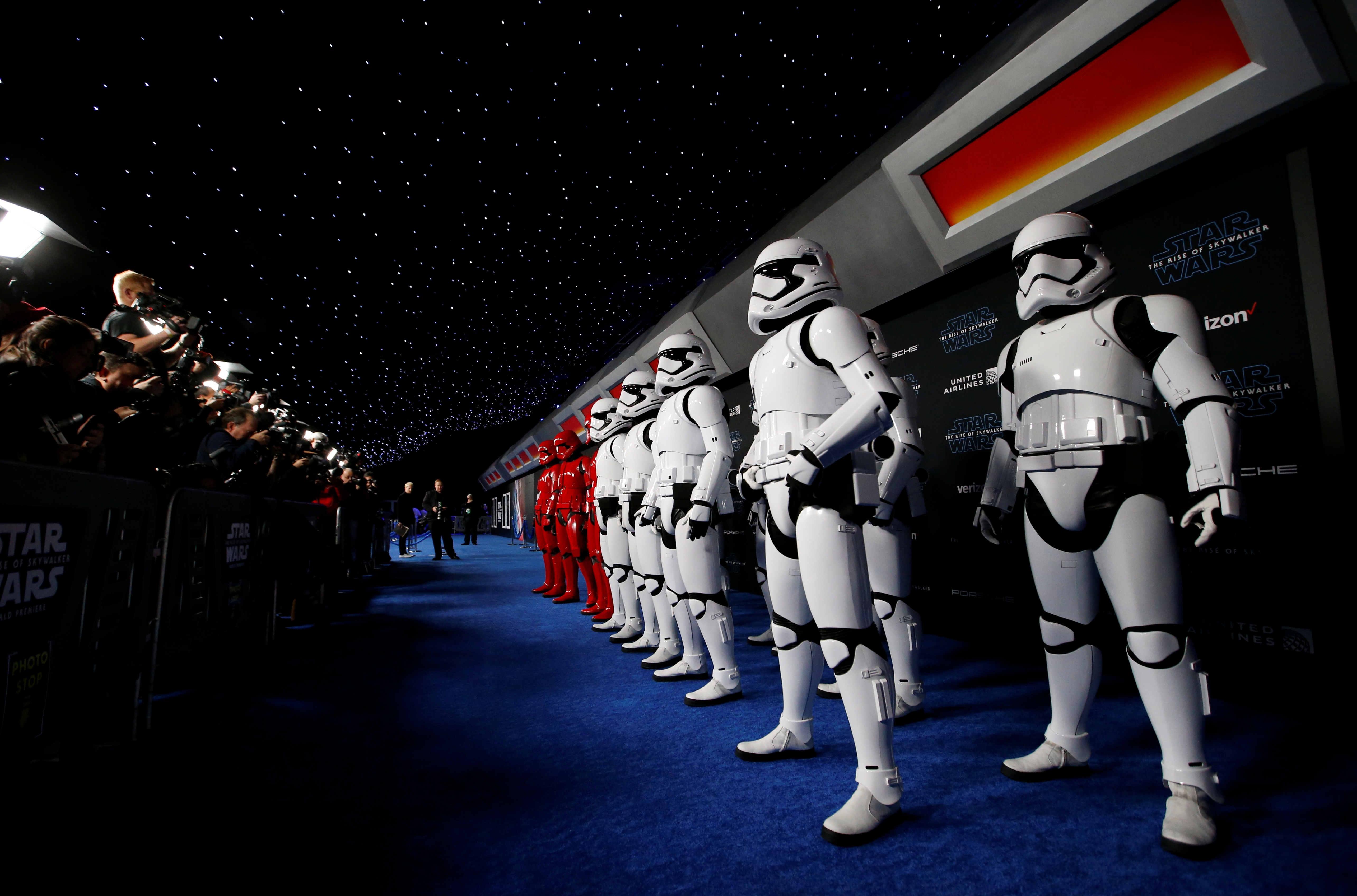 Stormtroopers (Foto: REUTERS/Mario Anzuoni)