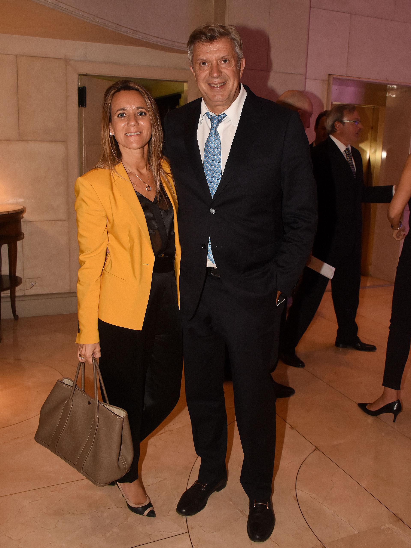 Los abogados Mariana Gallego y Mauricio D'Alessandro