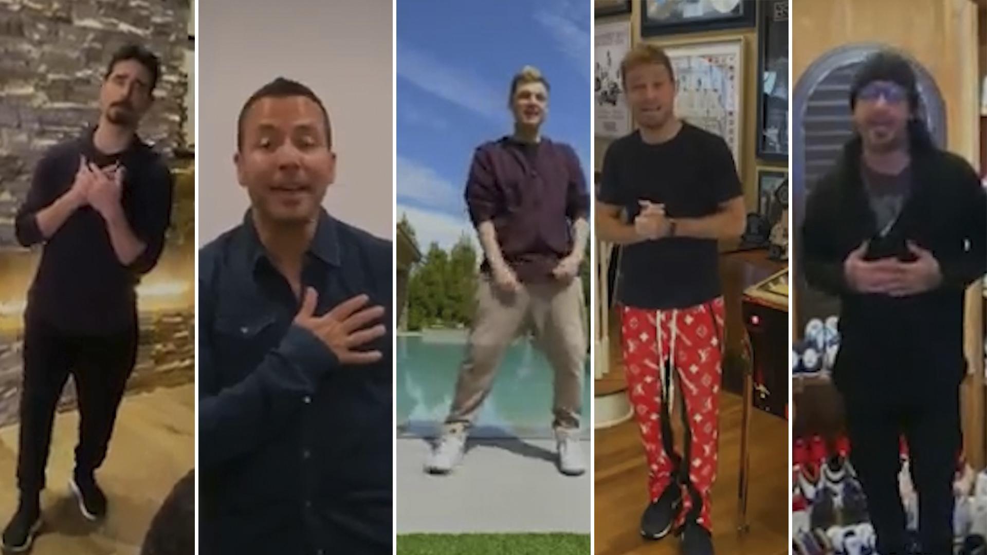 El Video Viral De Los Backstreet Boys Cantando Desde Sus Casas Para Combatir El Coronavirus Infobae