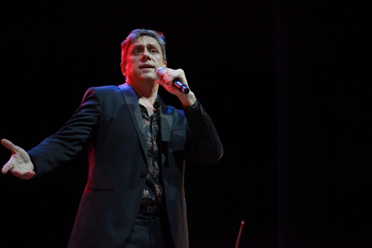 Juan Rodó en pleno show